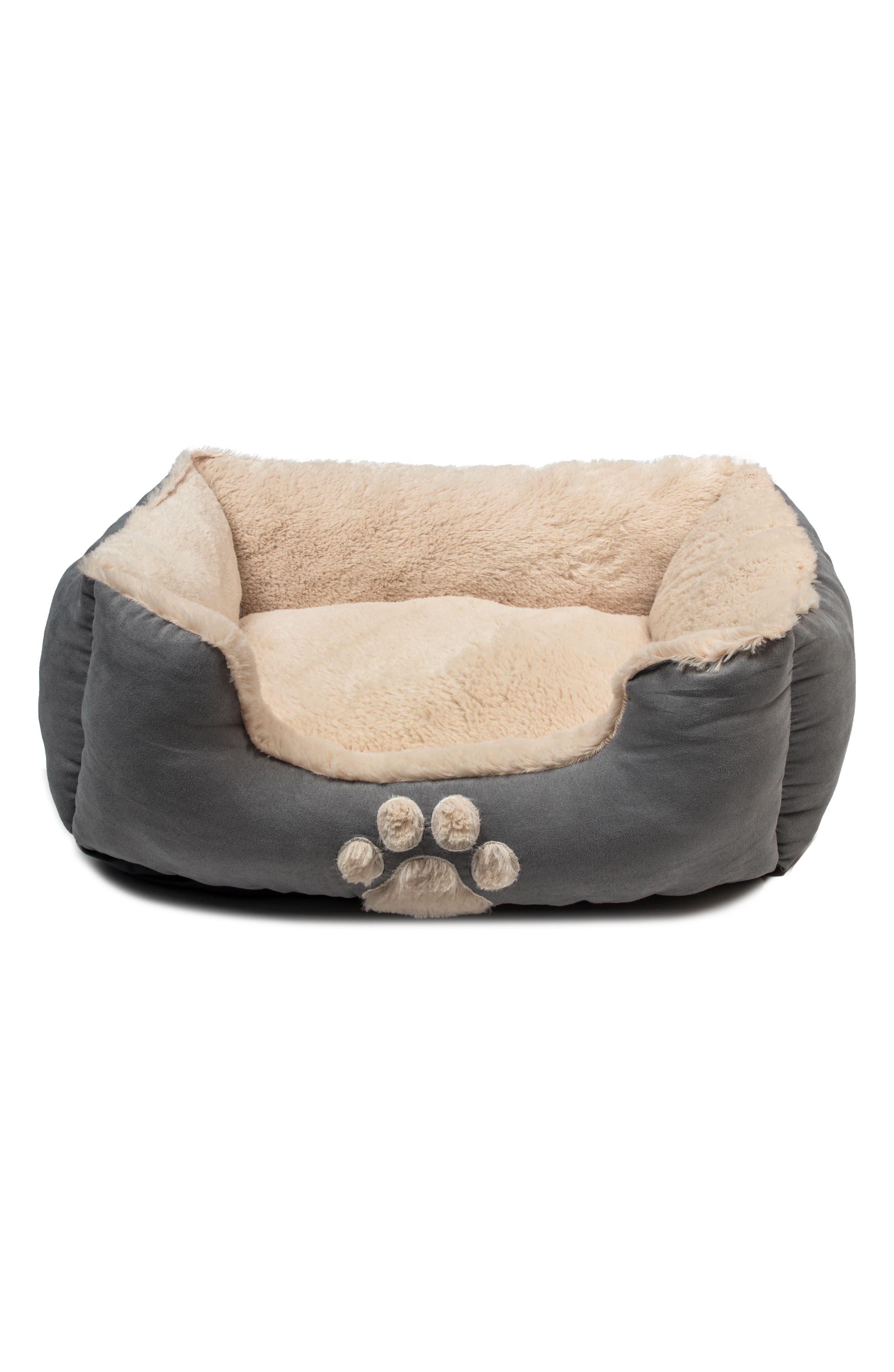 Roxi Square Pet Bed,                         Main,                         color, SLATE BLUE