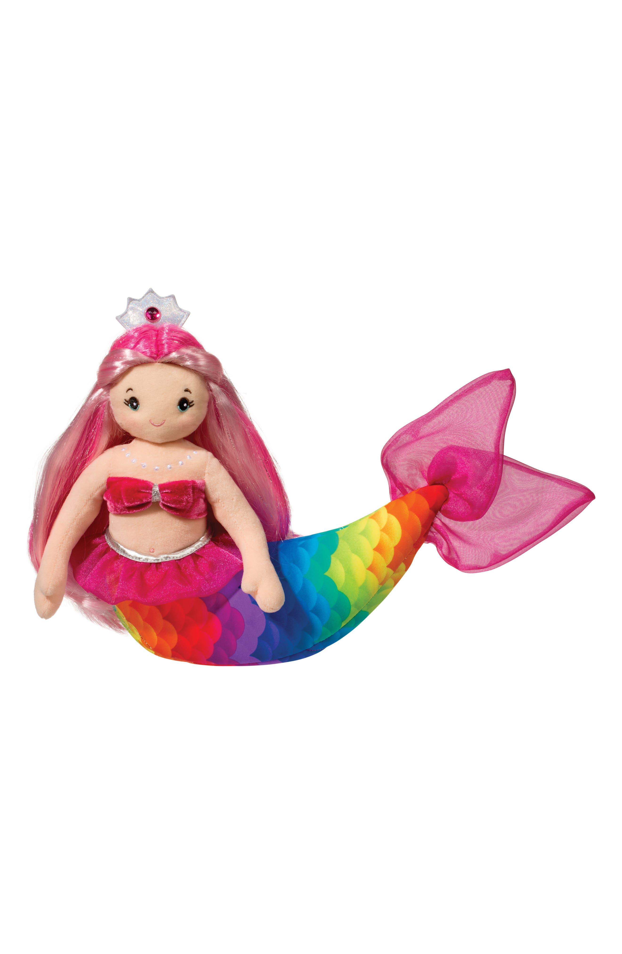 Arissa - Large Rainbow Mermaid Doll,                             Main thumbnail 1, color,                             650