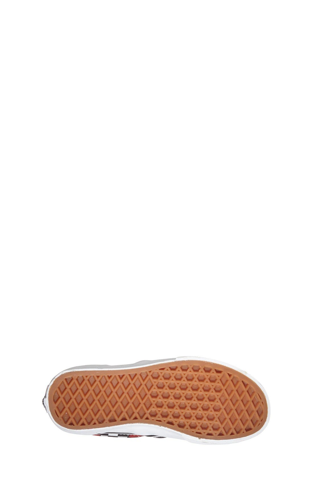'Classic - Cherry Checkerboard' Slip-On,                             Alternate thumbnail 4, color,                             001