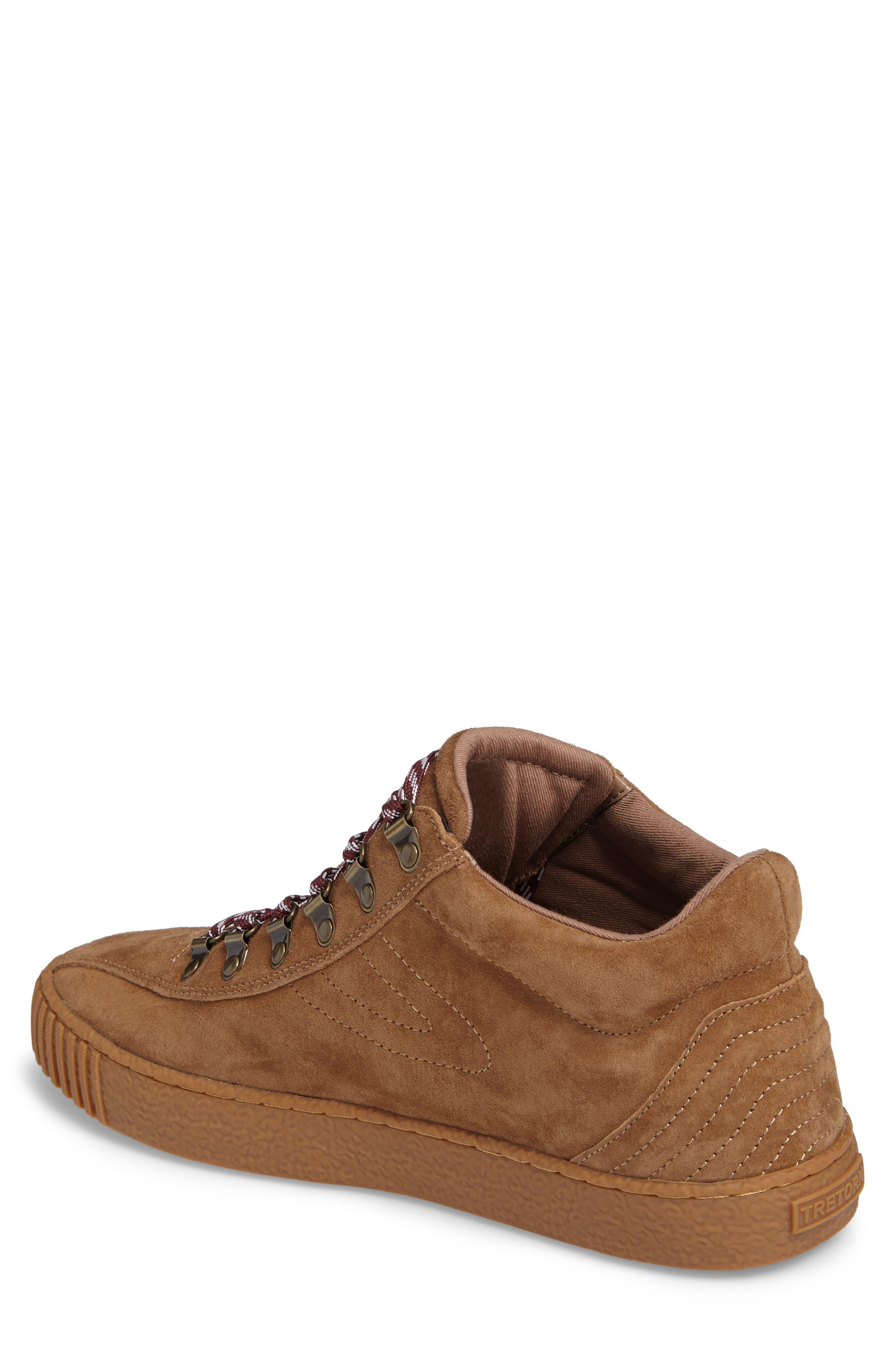 Dante 3 Sneaker,                             Alternate thumbnail 2, color,                             CIGAR NUBUCK