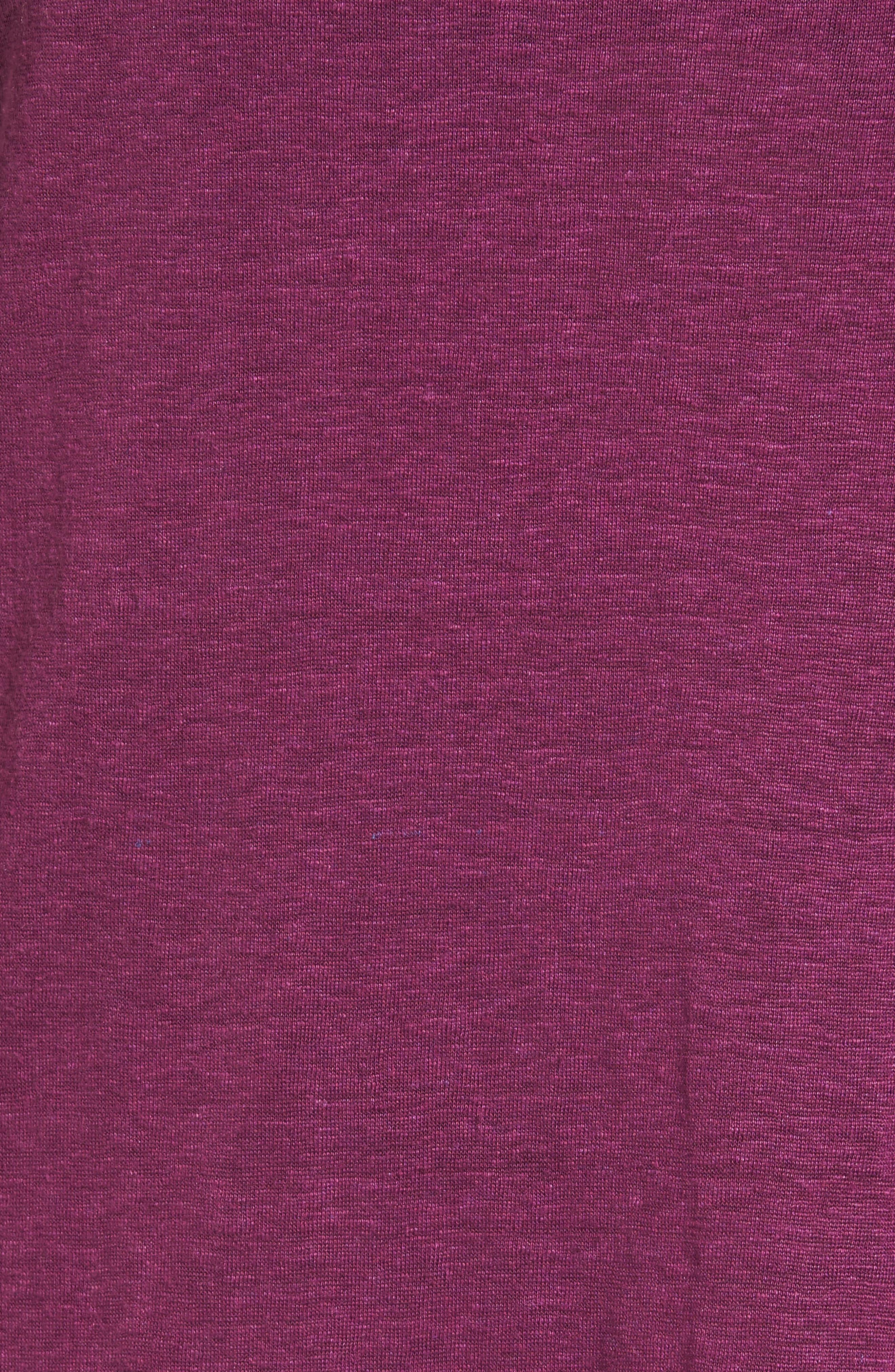 Bateau Neck Organic Linen Tunic,                             Alternate thumbnail 73, color,