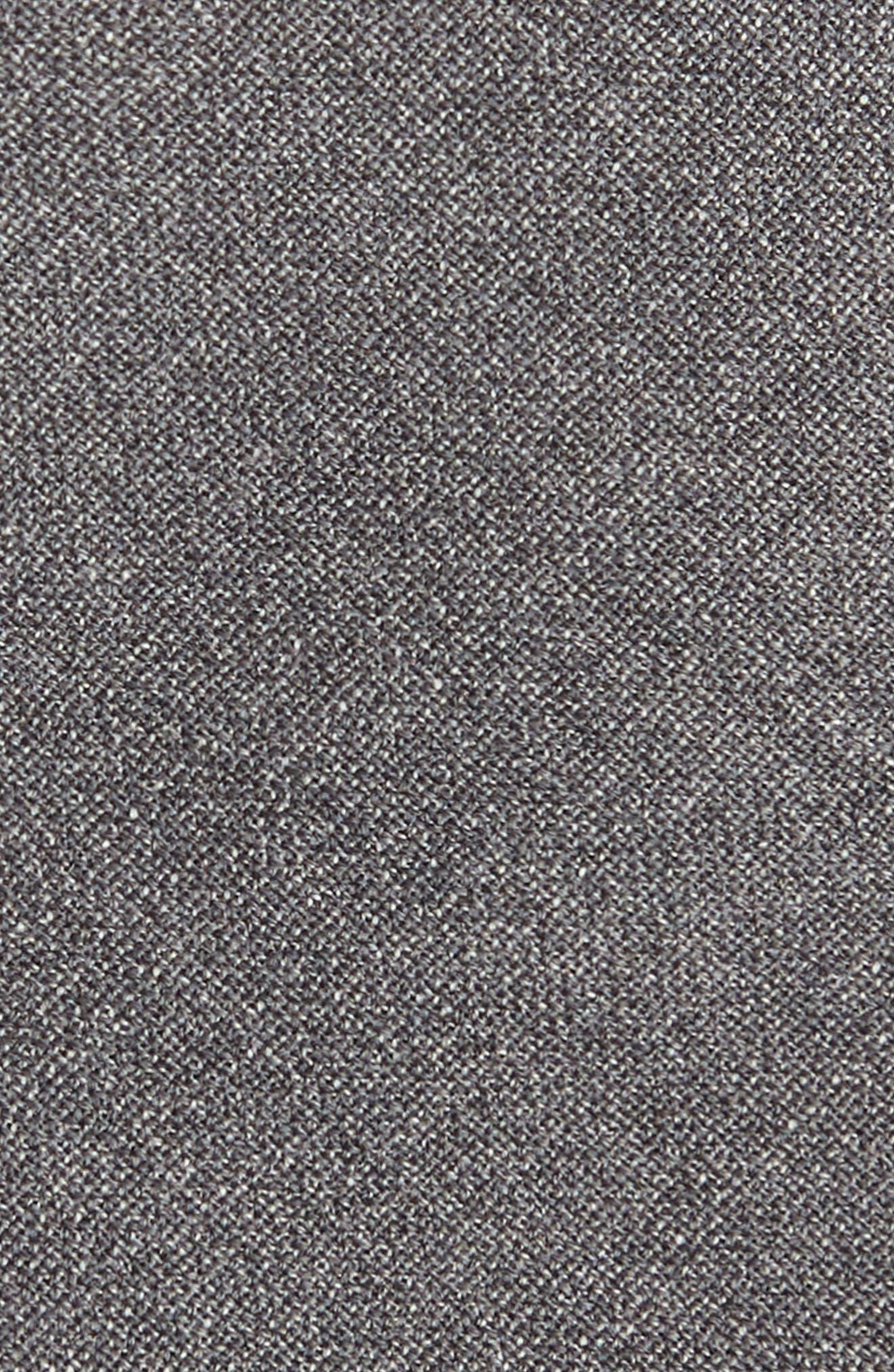 Jaspé Wool Skinny Tie,                             Alternate thumbnail 6, color,