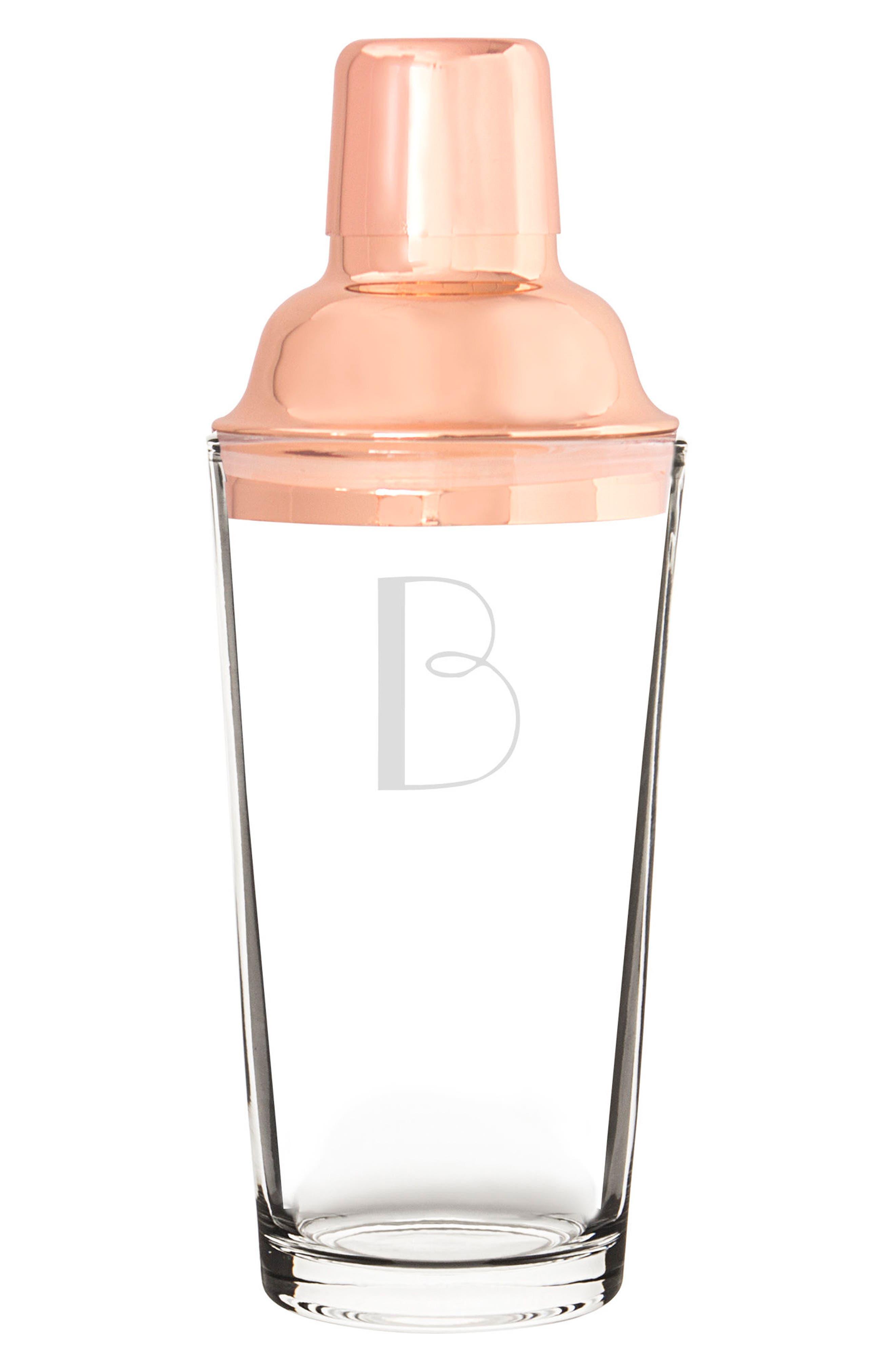 Monogram Coppertone Cocktail Shaker,                             Main thumbnail 3, color,