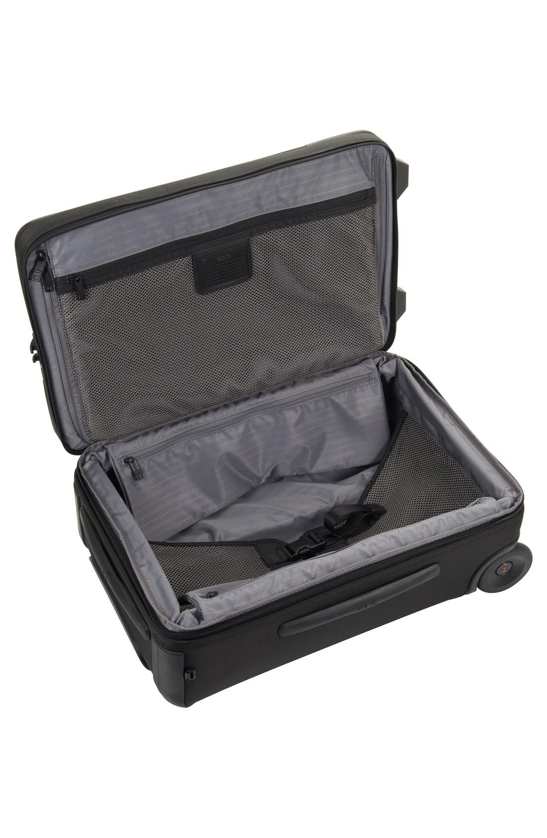 Alpha 2 22-Inch International Carry-On,                             Alternate thumbnail 8, color,                             BLACK
