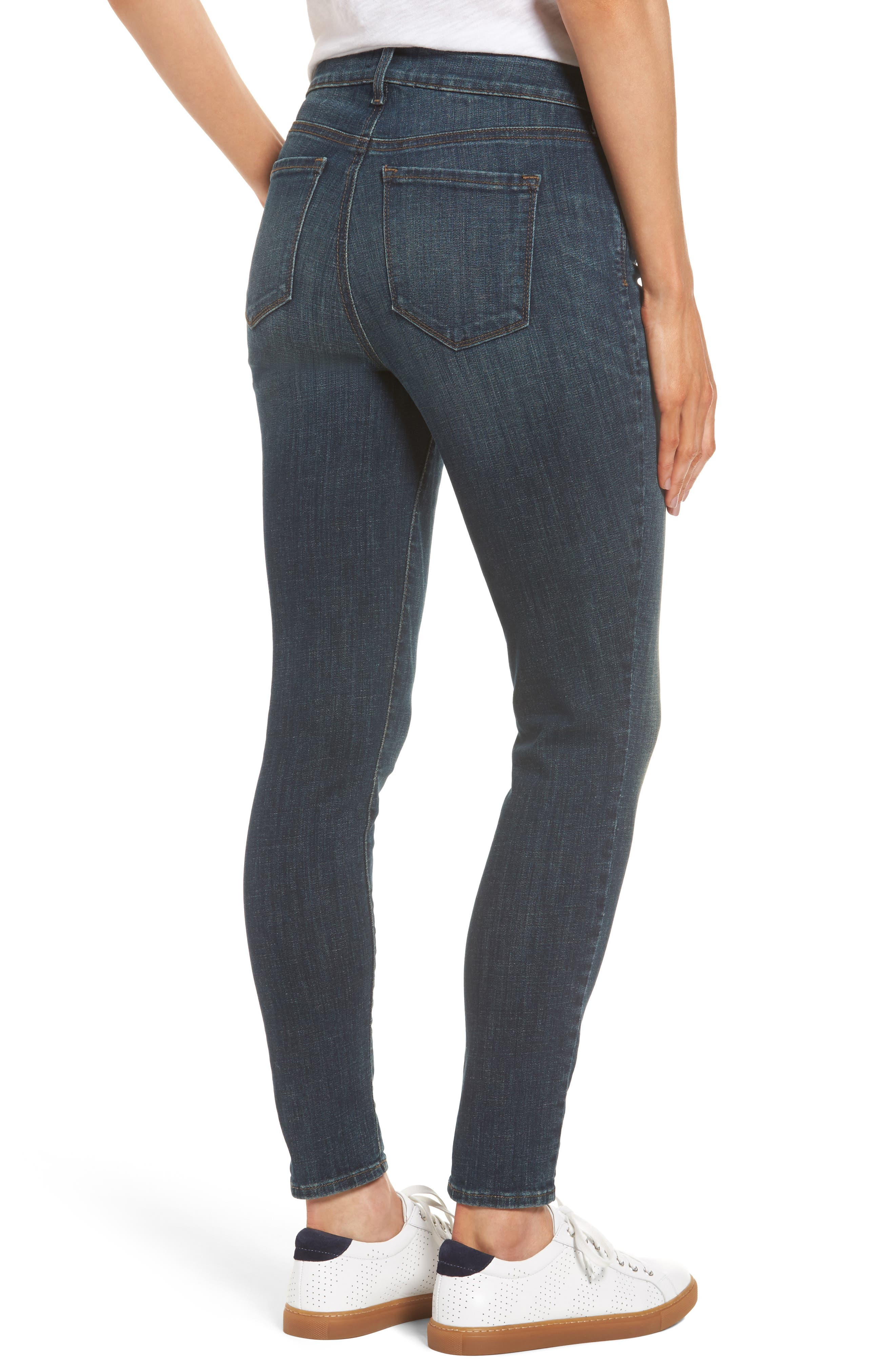 Ami Stretch Skinny Jeans,                             Alternate thumbnail 2, color,                             420