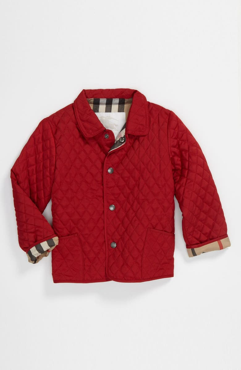 2406c1a62 Burberry  Colin  Quilted Jacket (Baby Girls)