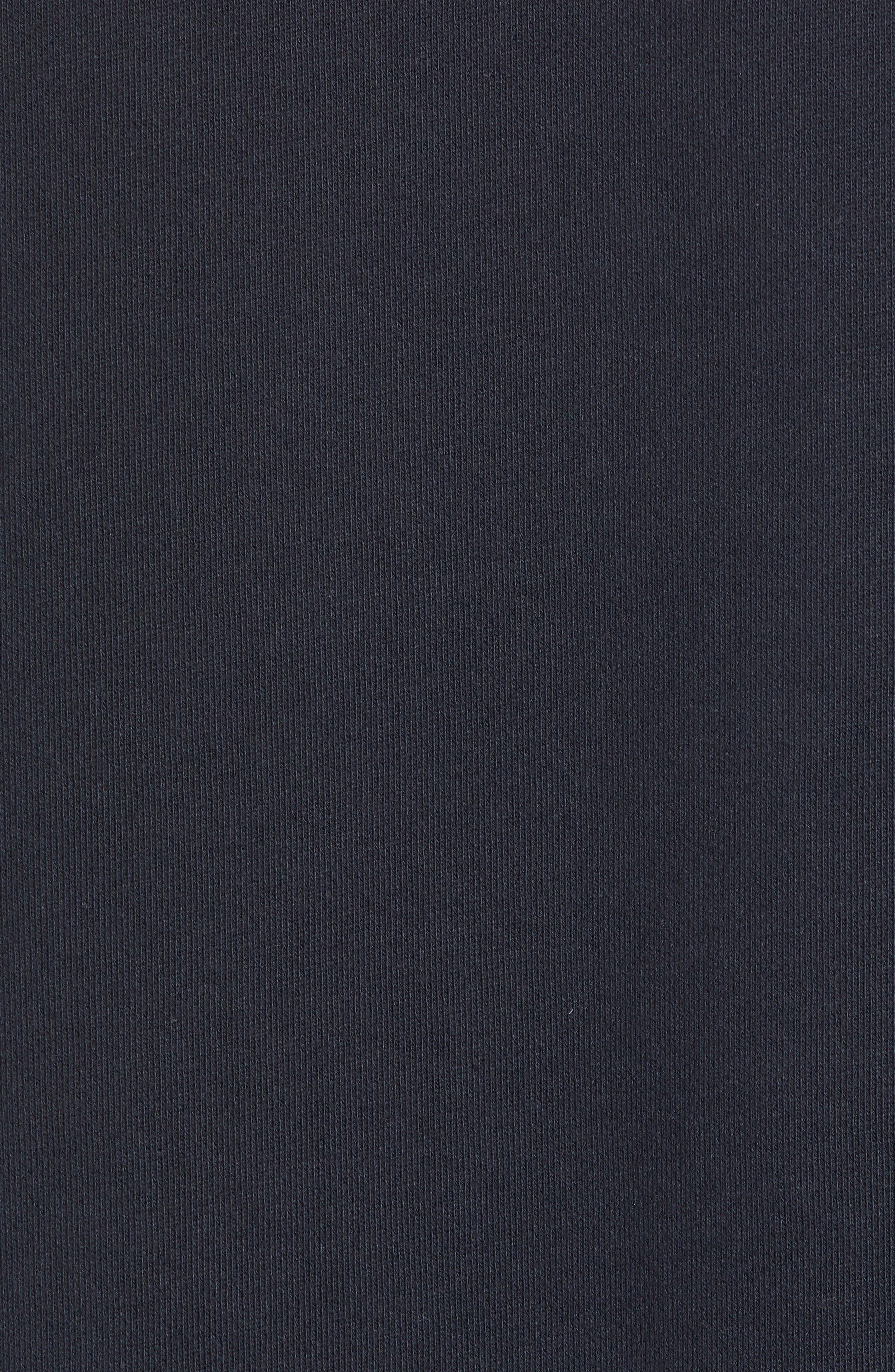 Regular Fit Crewneck Pullover,                             Alternate thumbnail 5, color,                             NAVY