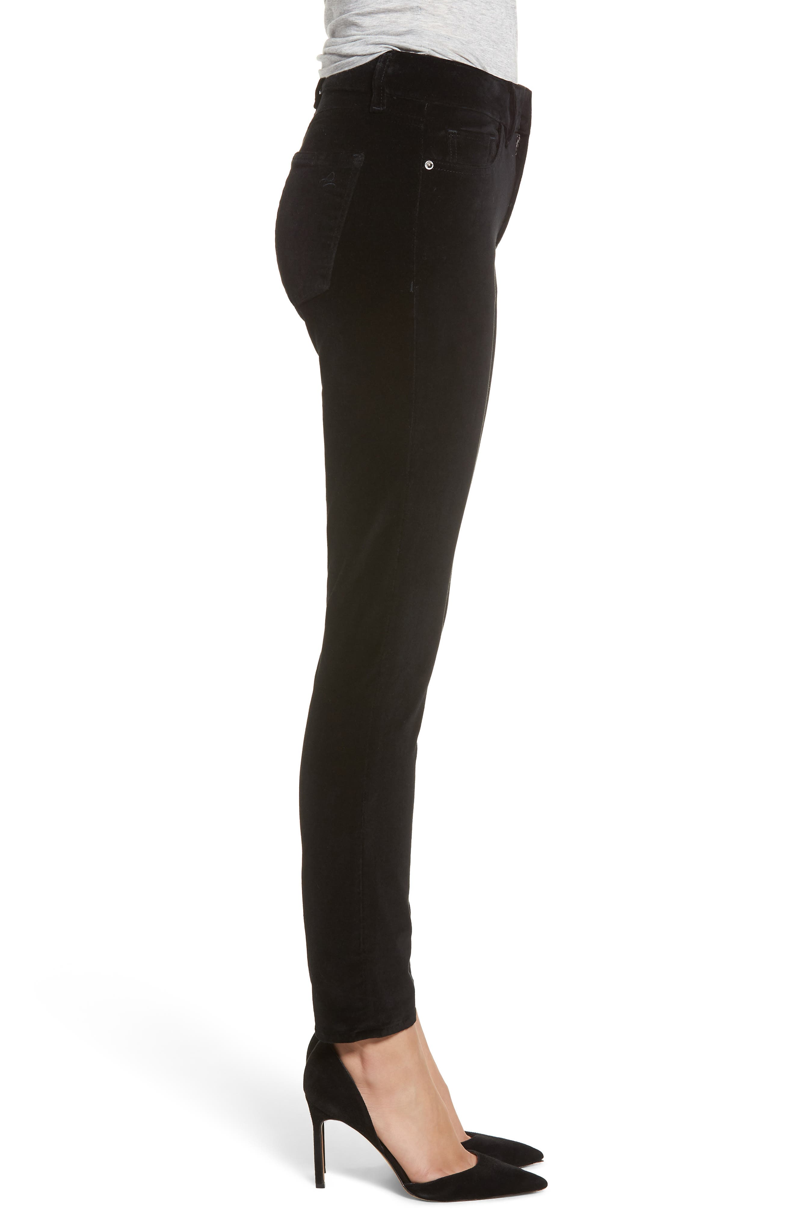 Margaux Instasculpt Ankle Skinny Jeans,                             Alternate thumbnail 3, color,                             001