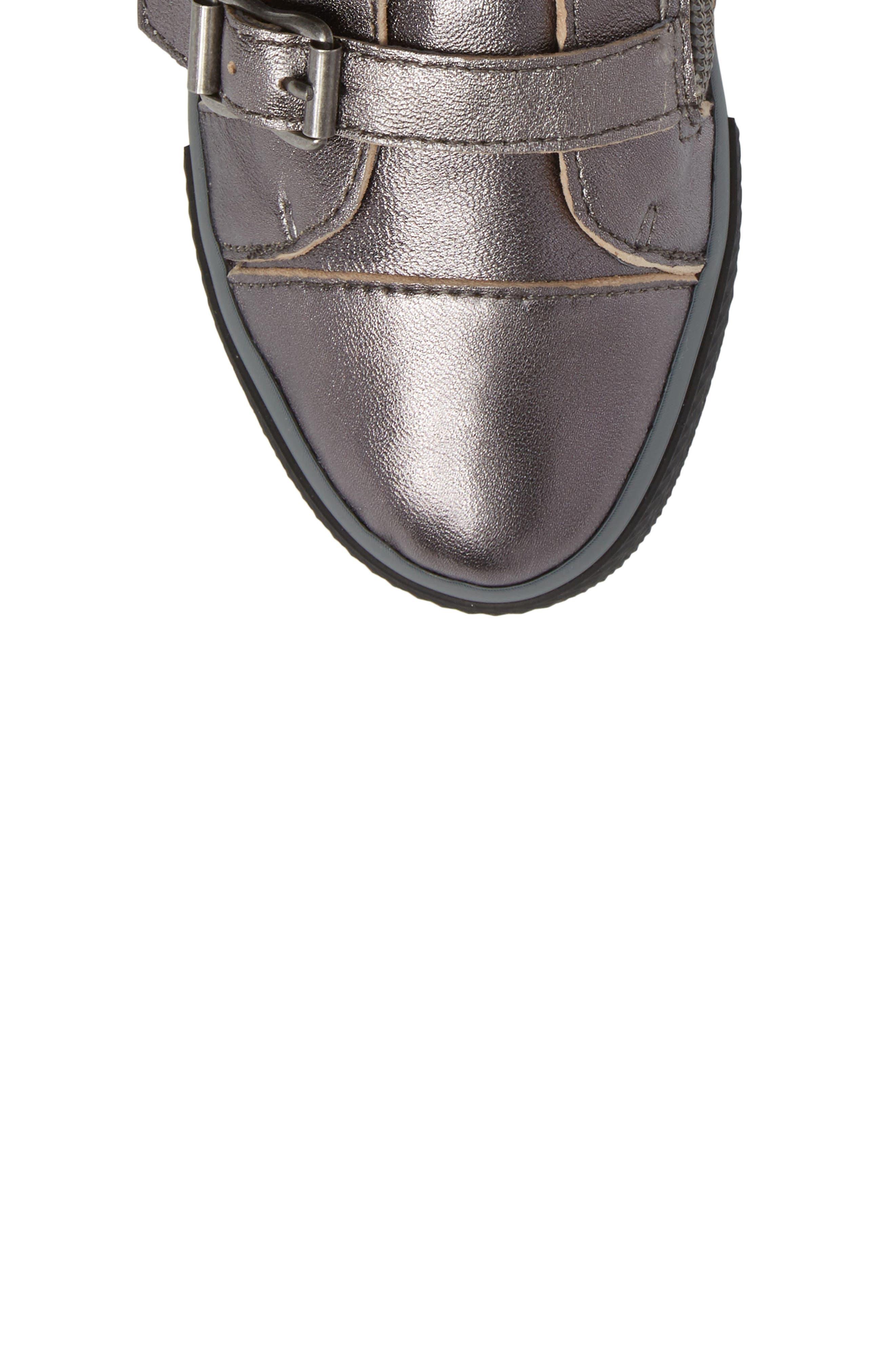 Vava Natalie Tall Sneaker Boot,                             Alternate thumbnail 5, color,                             040