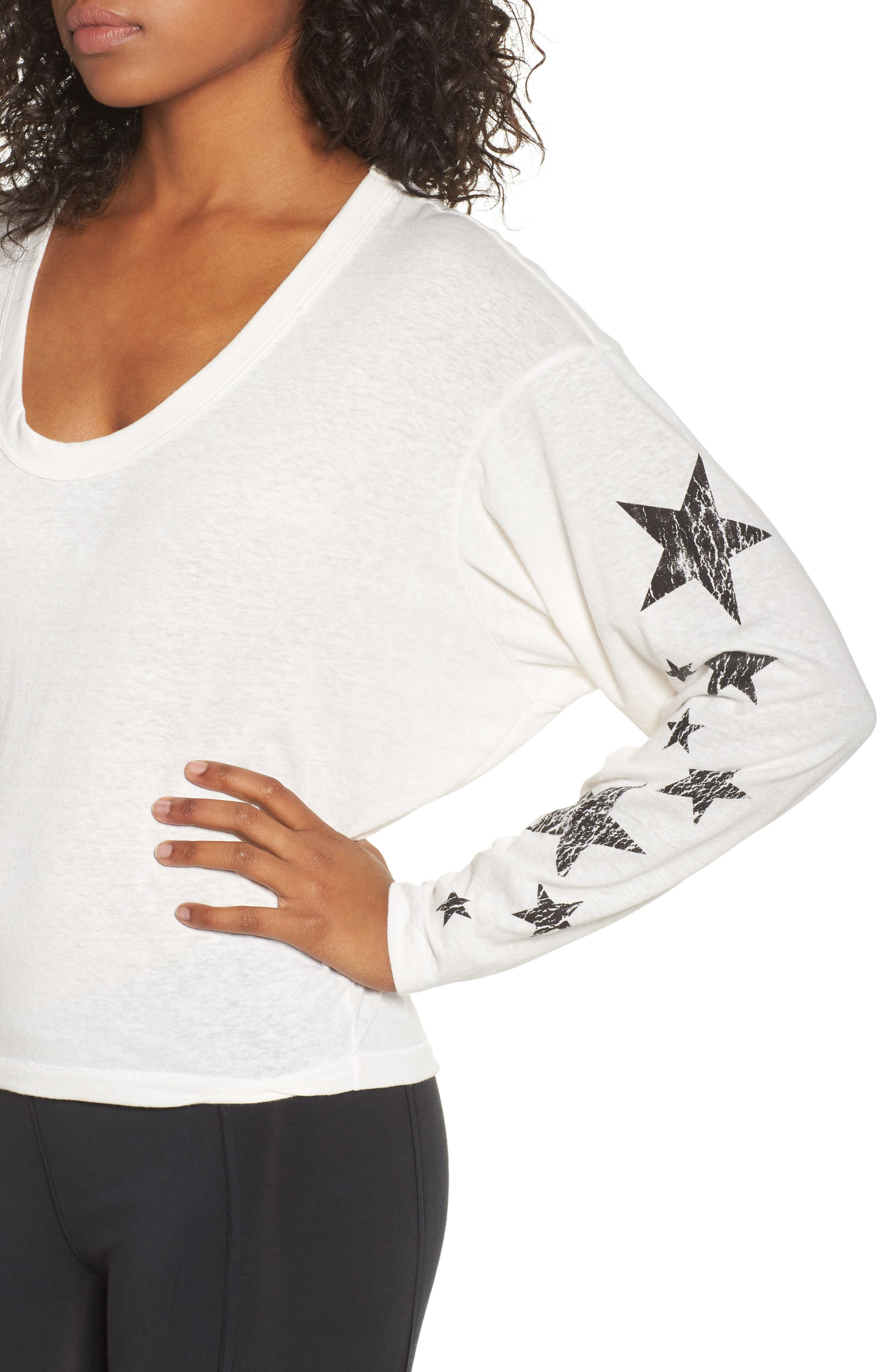 Free People Melrose Star Graphic Top,                             Alternate thumbnail 12, color,