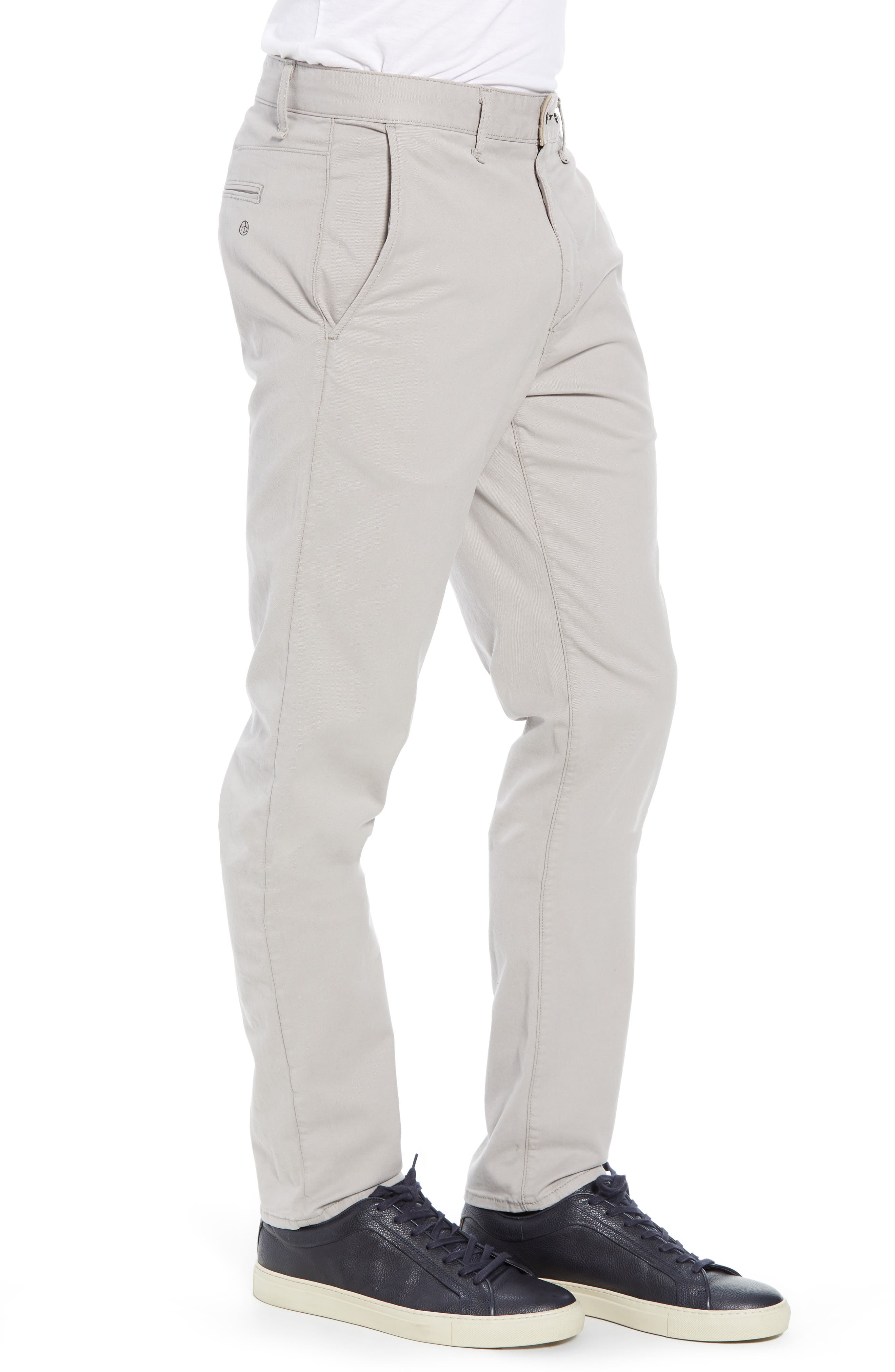 Fit 2 Classic Chinos,                             Alternate thumbnail 3, color,                             LIGHT GREY