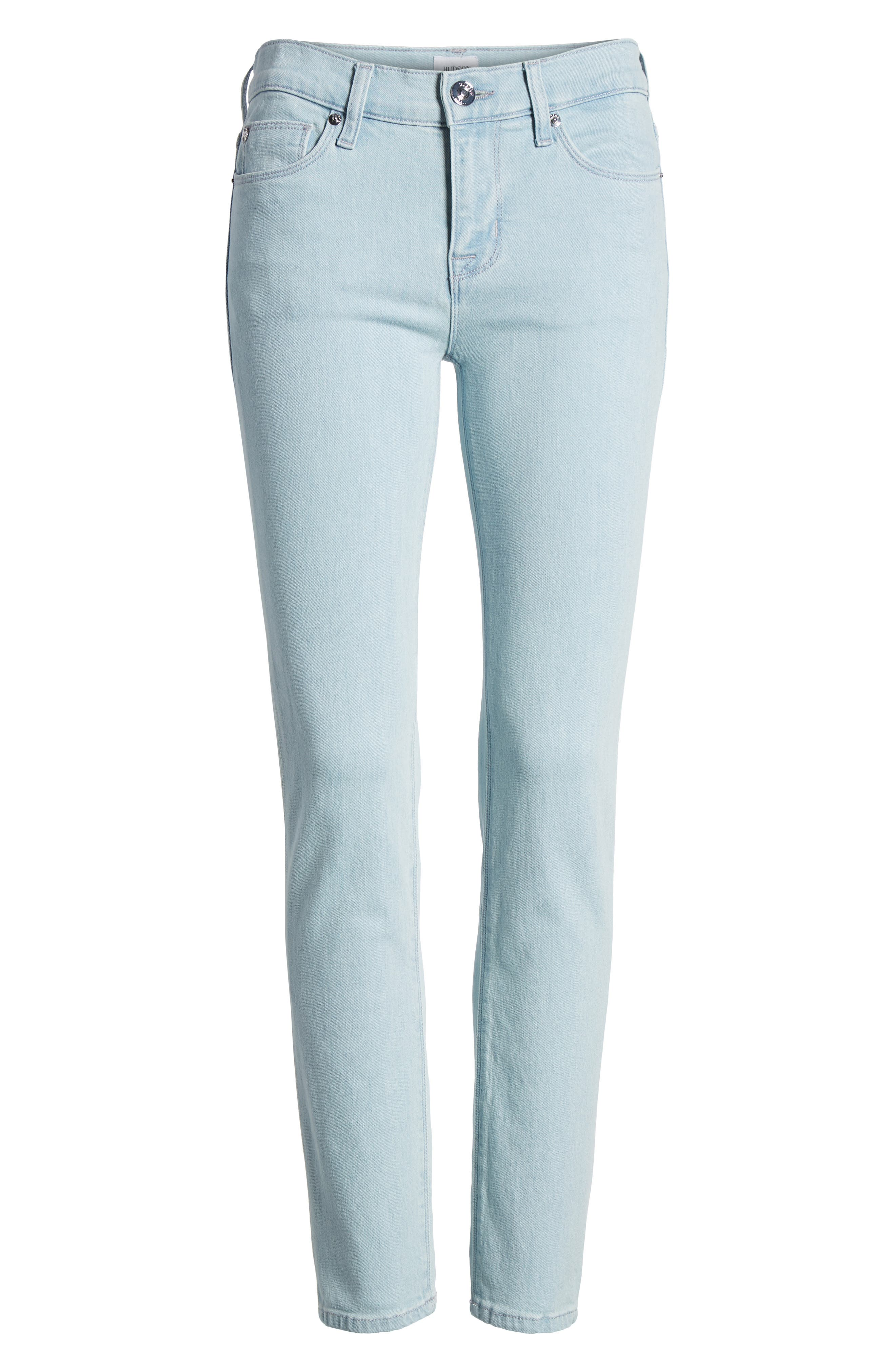 Tally Crop Skinny Jeans,                             Alternate thumbnail 7, color,                             363