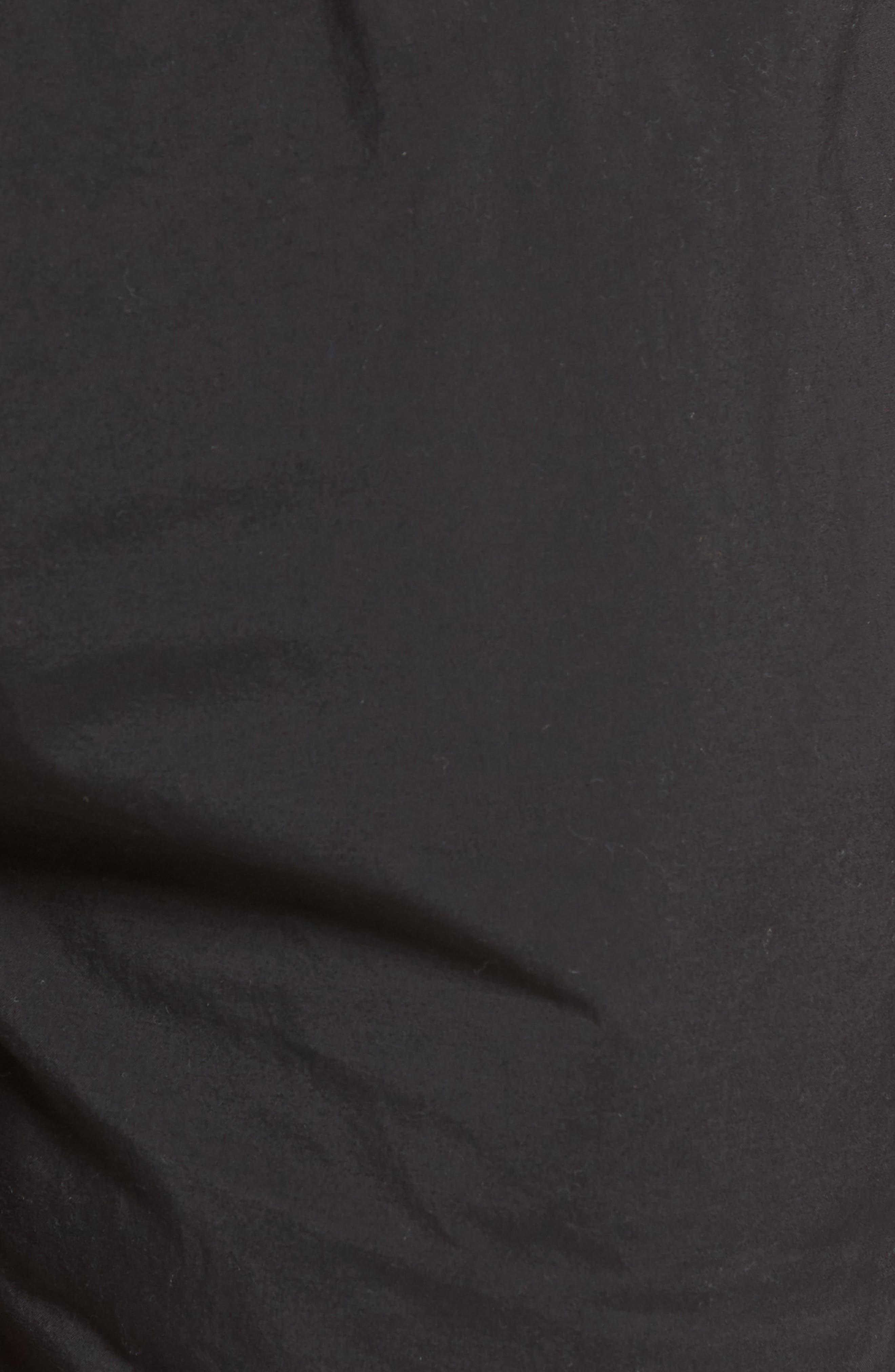 Perch Swim Trunks,                             Alternate thumbnail 5, color,                             BLACK