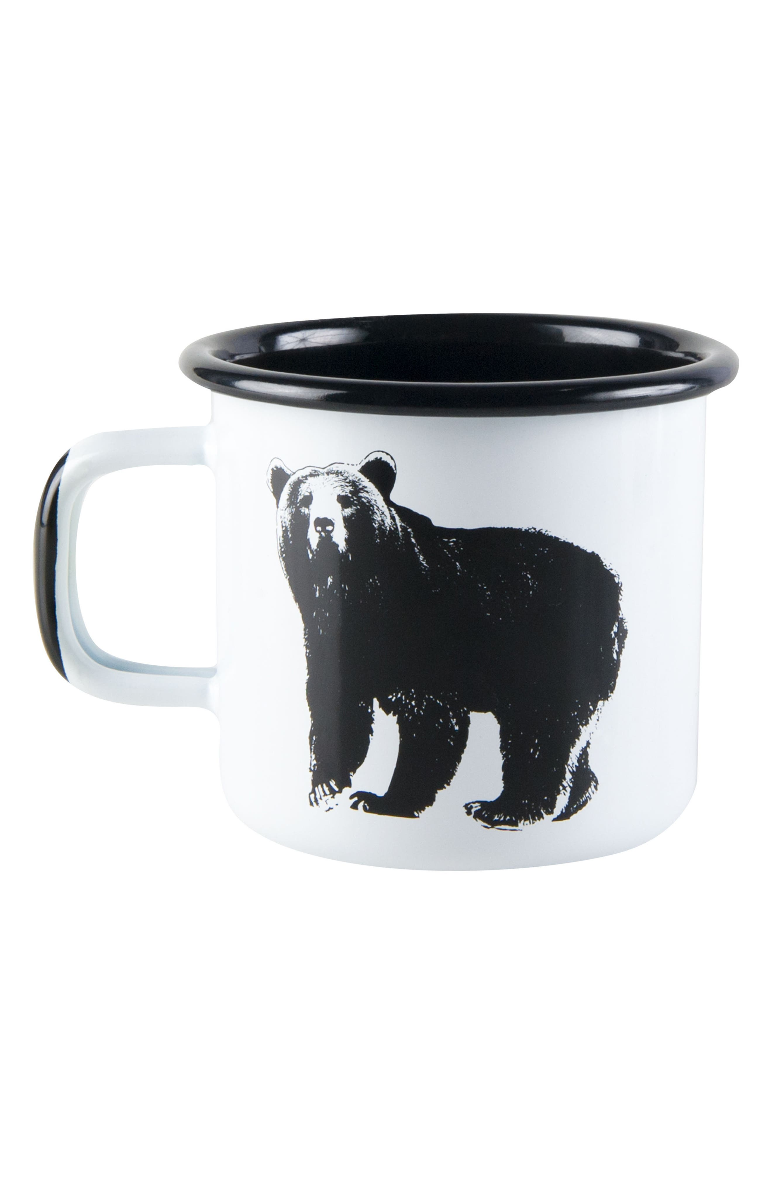 Bear Enamel Mug,                         Main,                         color, 100
