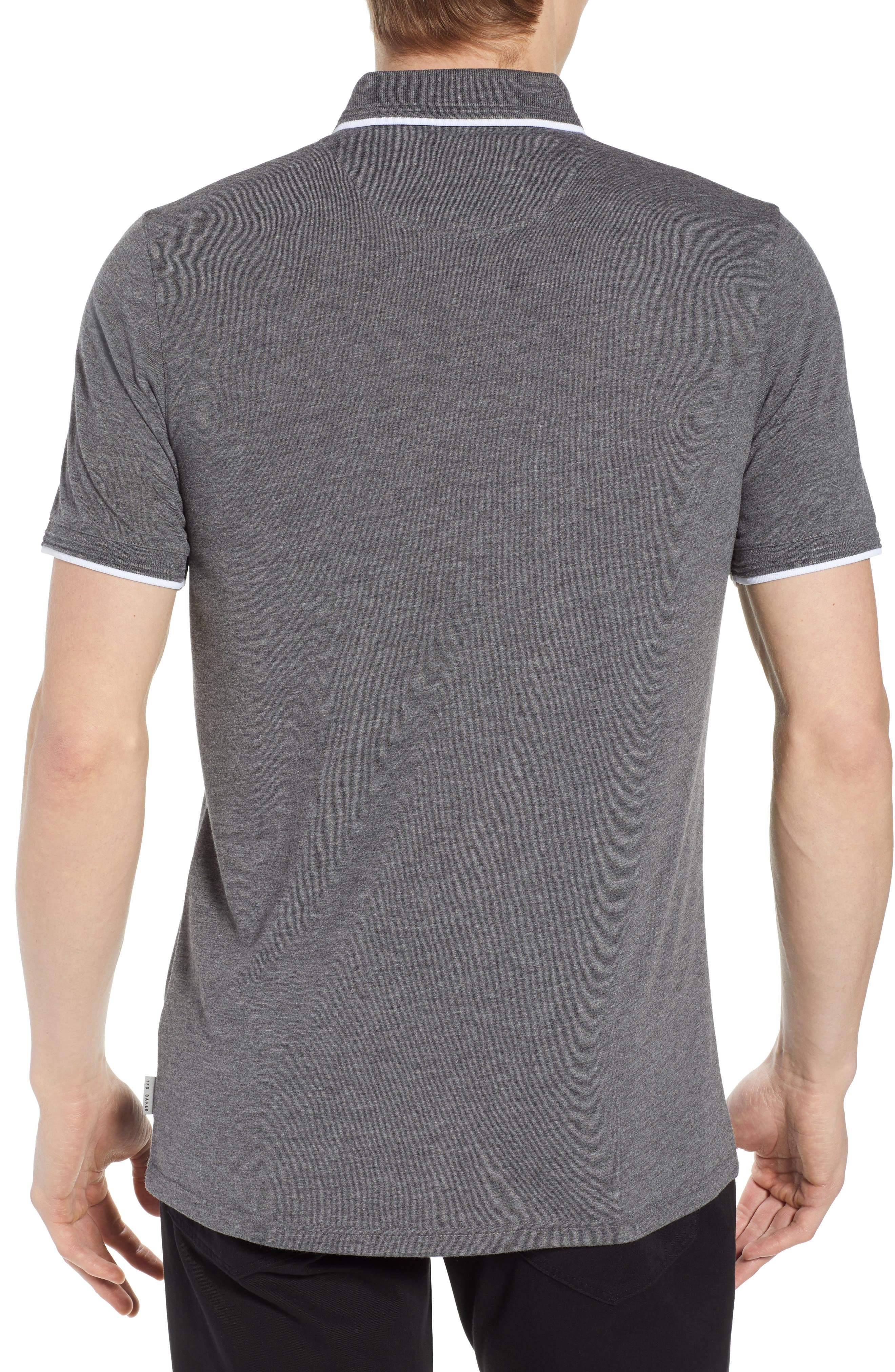 Derry Modern Slim Fit Polo,                             Alternate thumbnail 2, color,                             021