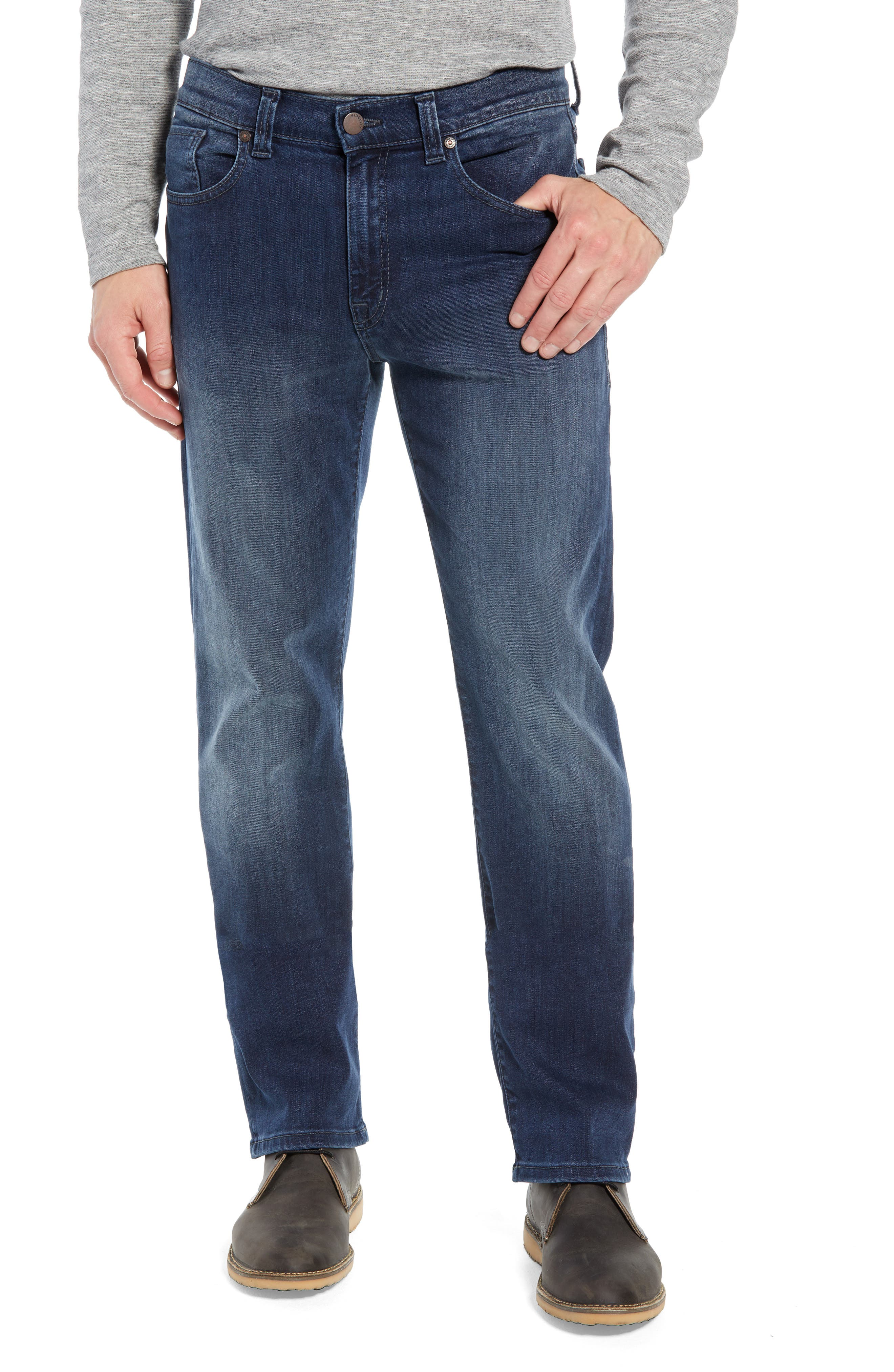 50-11 Relaxed Fit Jeans,                             Main thumbnail 1, color,                             BEL AIR BLUE