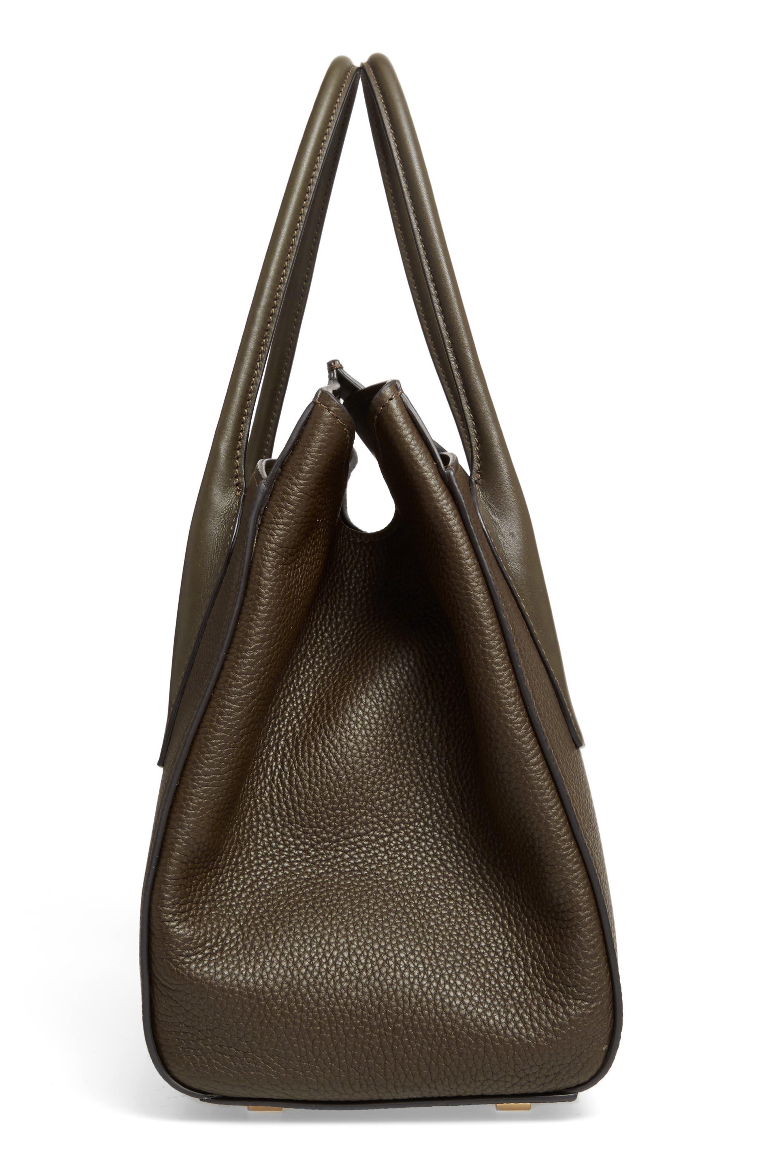Large Bancroft Leather Top Handle Satchel,                             Alternate thumbnail 15, color,