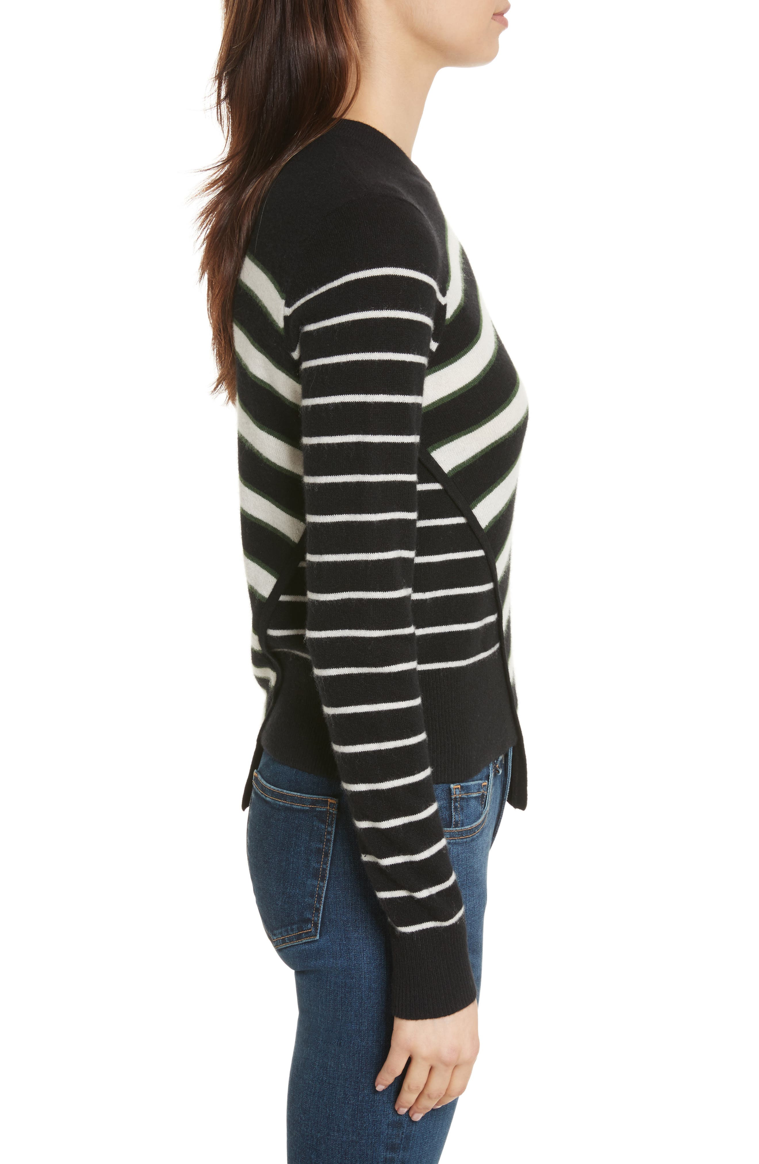 Pepper Cashmere Sweater,                             Alternate thumbnail 3, color,                             007
