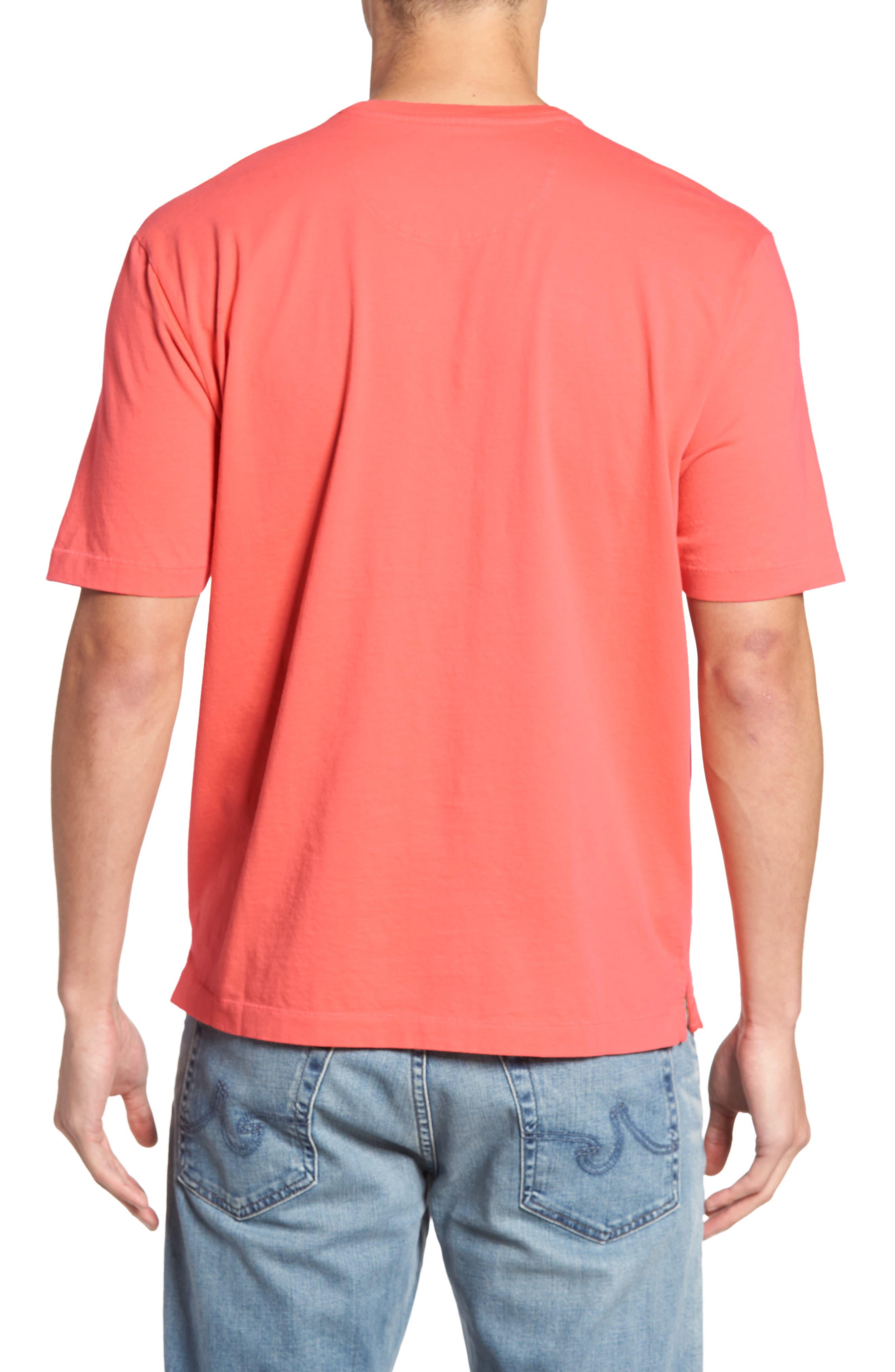 New Bali Sky Pima Cotton Pocket T-Shirt,                             Alternate thumbnail 76, color,