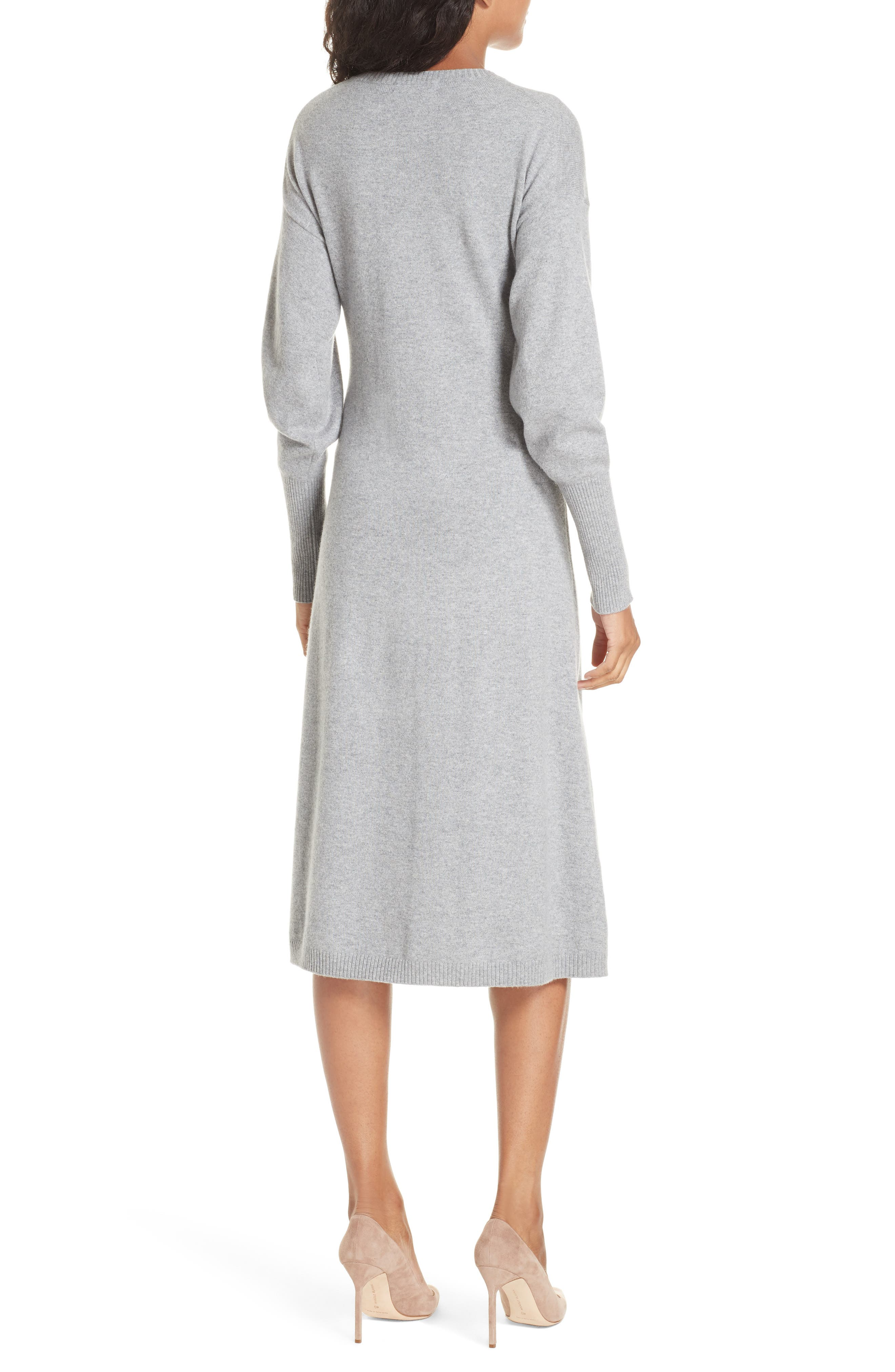 Cashmere Blend Sweater Dress,                             Alternate thumbnail 2, color,                             030