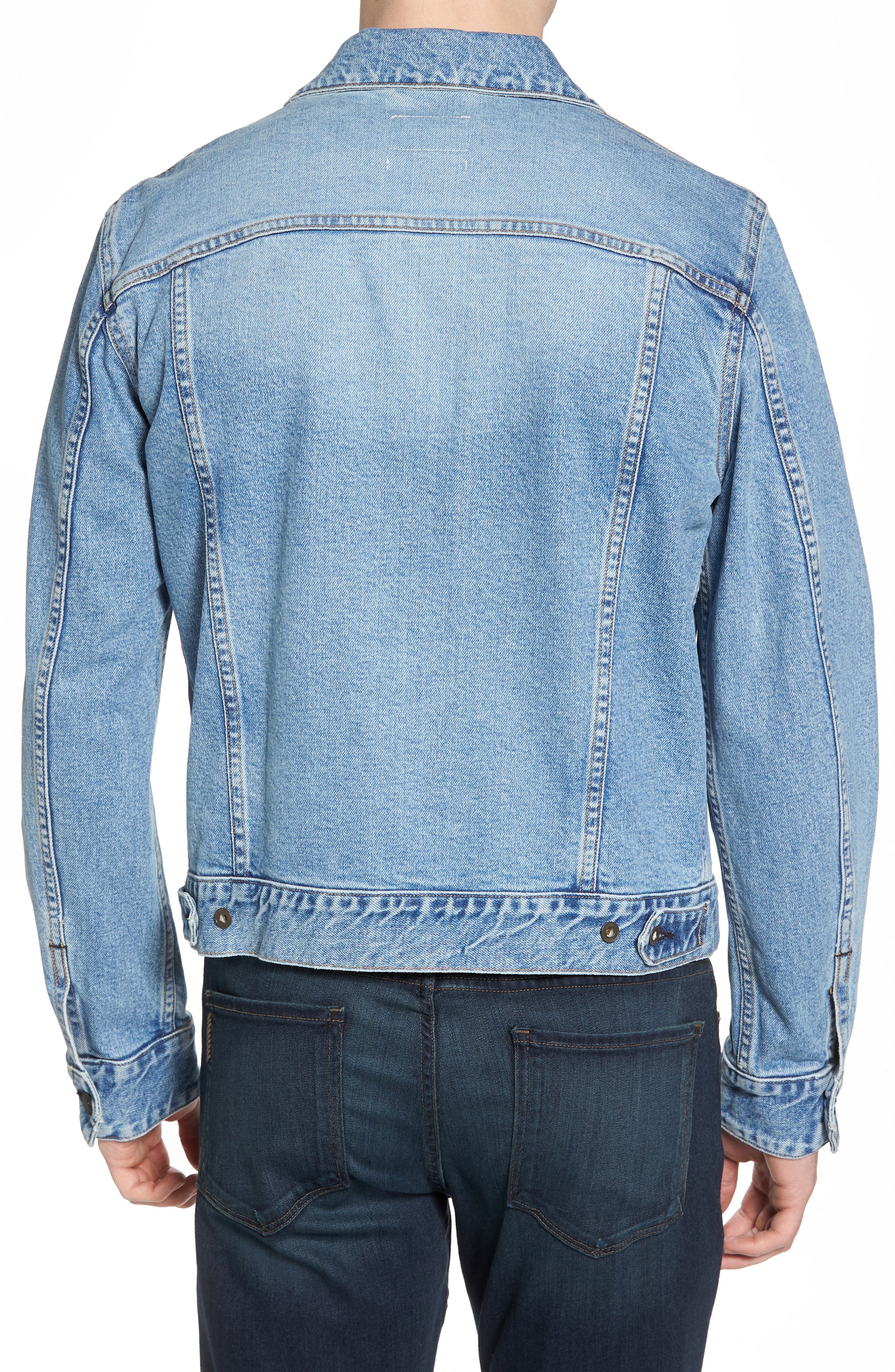 Jean Jacket,                             Alternate thumbnail 2, color,                             450