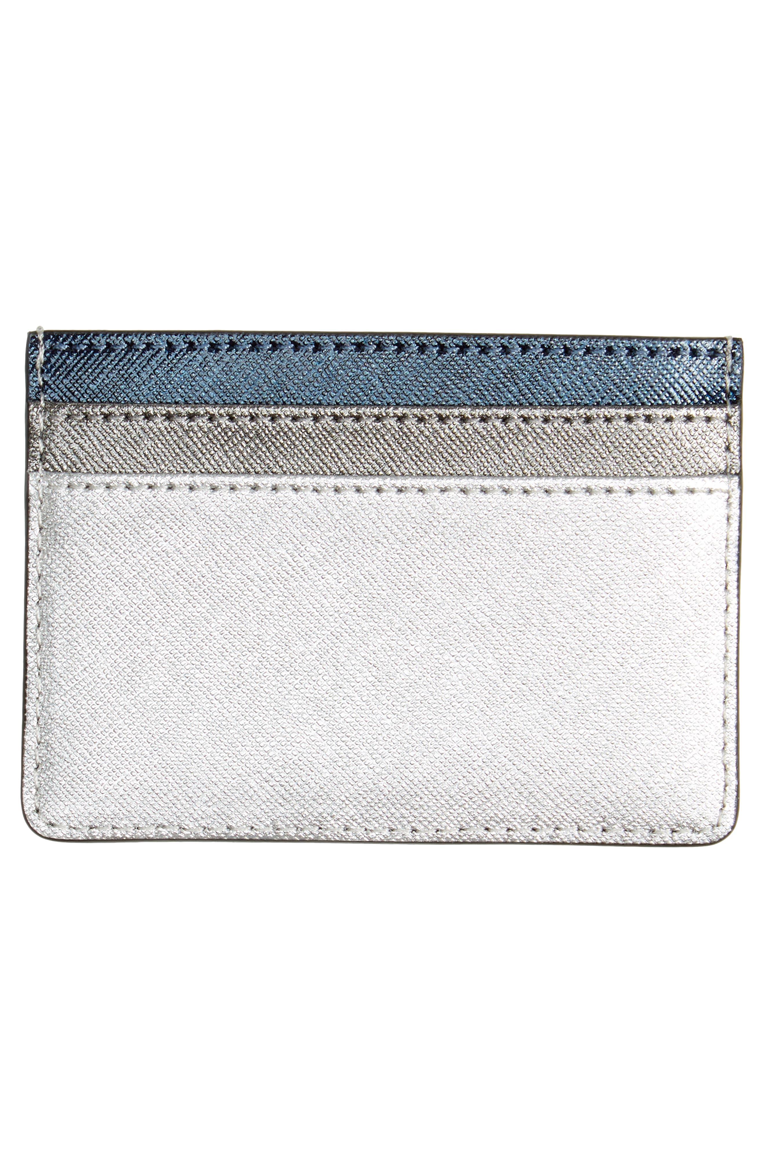 Snapshot Saffiano Leather Card Case,                             Alternate thumbnail 2, color,                             040