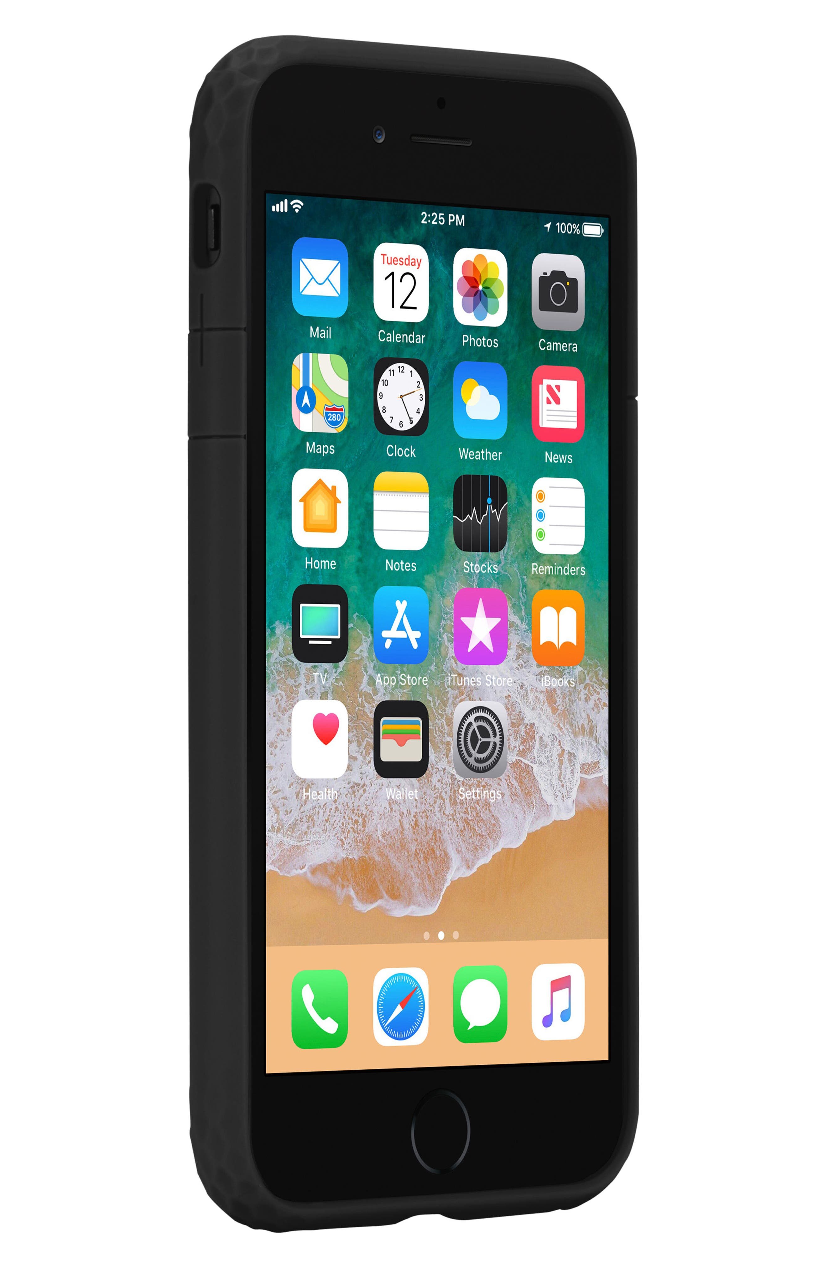 Frame iPhone 7/8 Case,                             Alternate thumbnail 5, color,                             BLACK