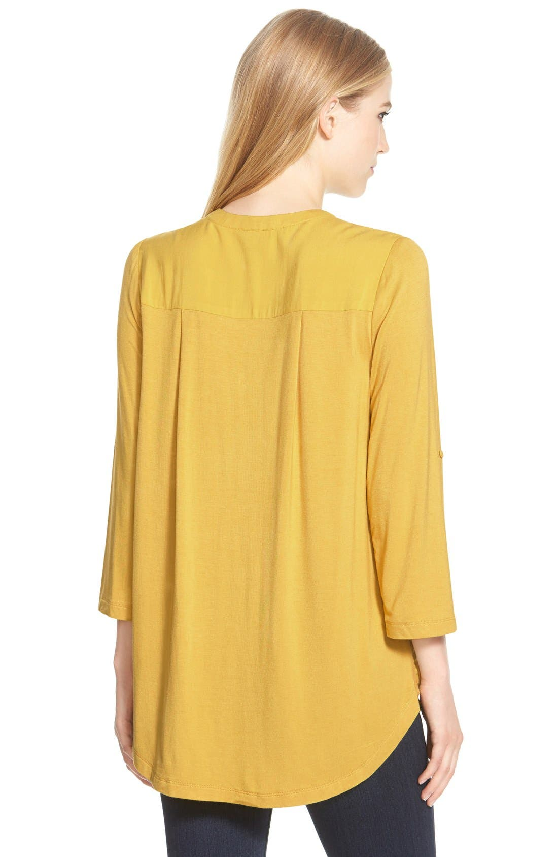 Mixed Media V-Neck Tunic,                             Alternate thumbnail 141, color,