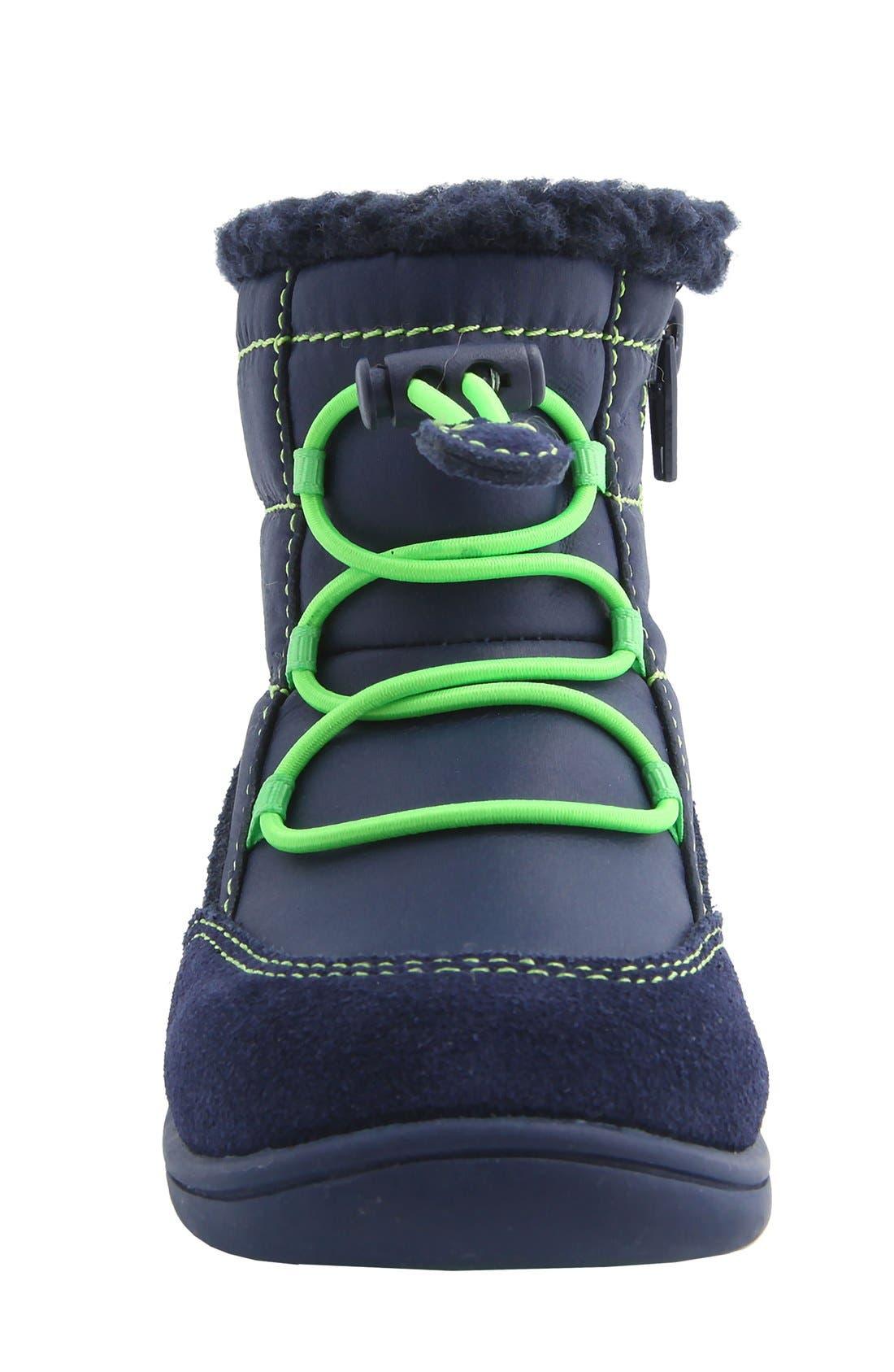 Nina 'Yolie' Lace-Up Boot,                             Alternate thumbnail 9, color,