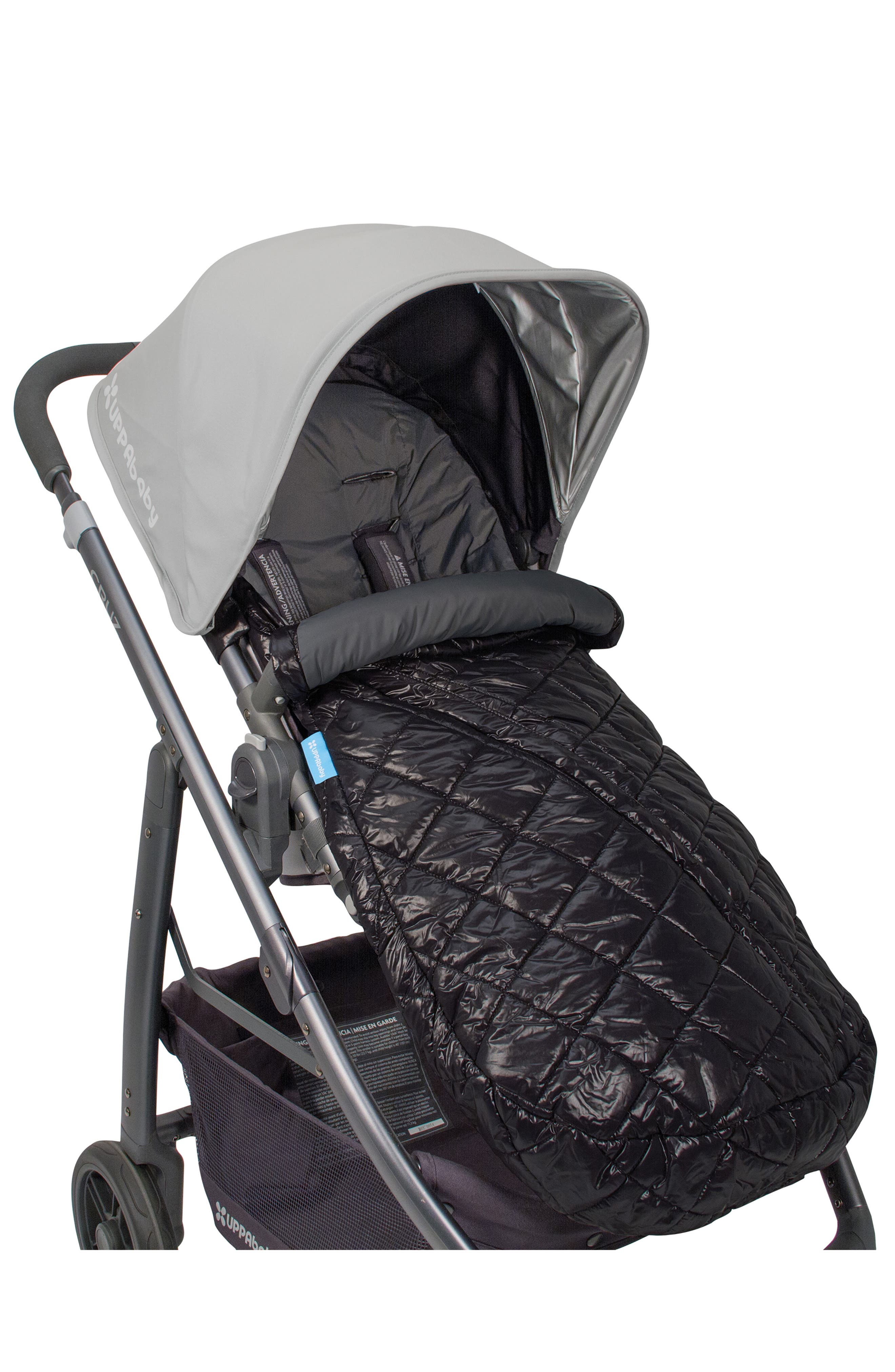 Ganoosh Water Repellent & Insulated Stroller Footmuff,                             Alternate thumbnail 2, color,                             001