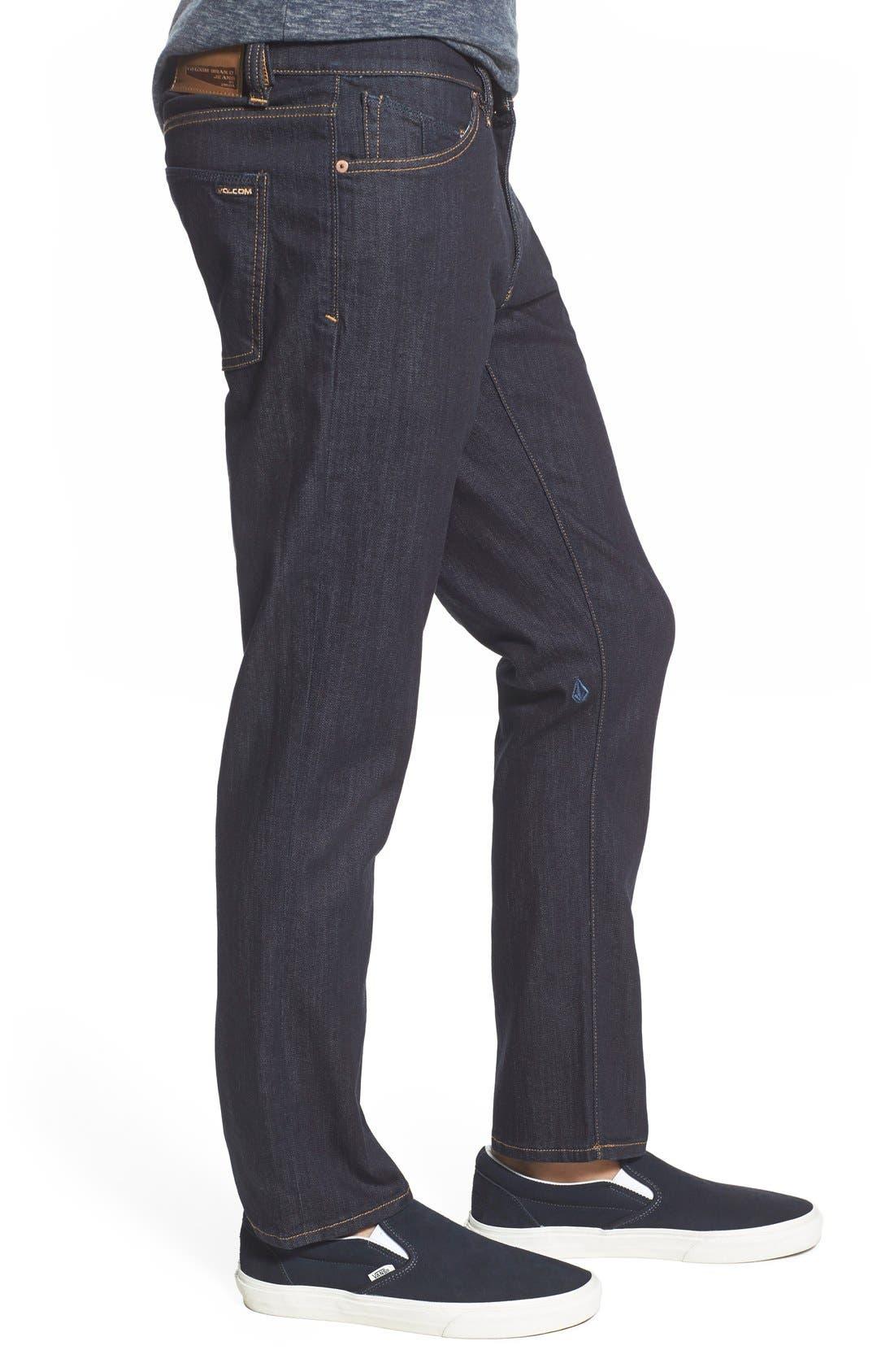'Vorta' Slim Fit Jeans,                             Alternate thumbnail 28, color,