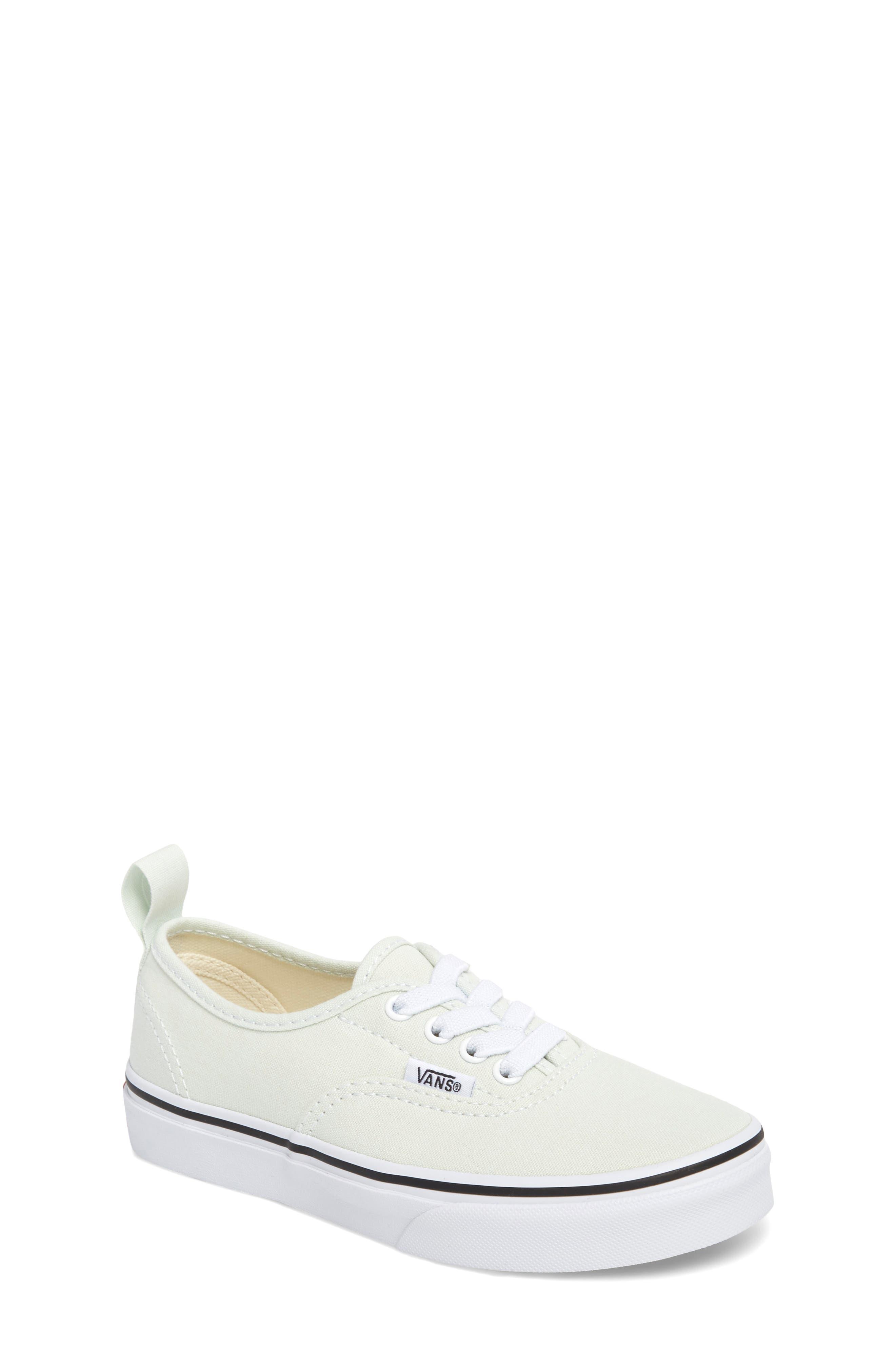 Authentic Elastic Lace Sneaker,                         Main,                         color, 420