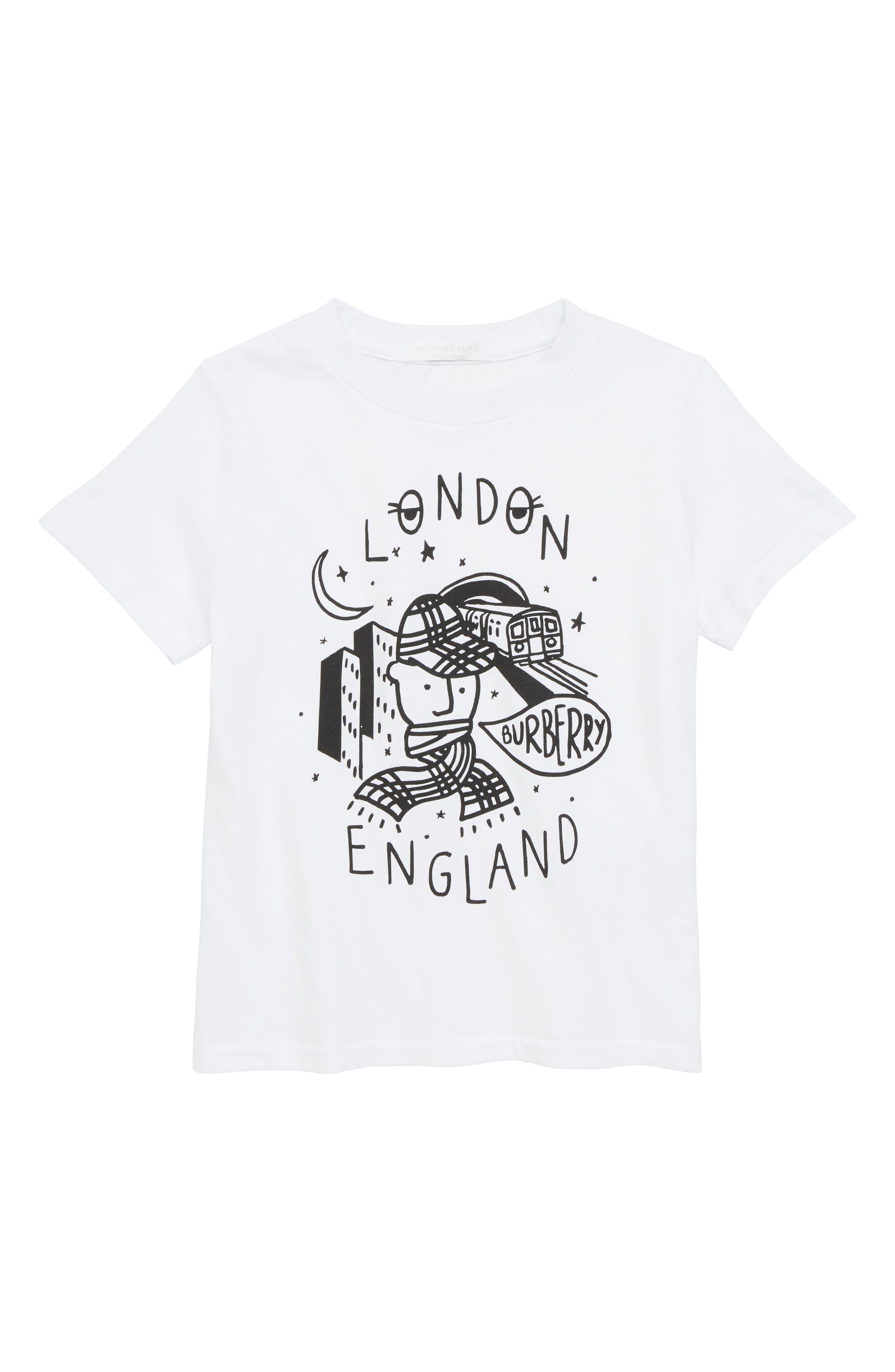 Check Boy Graphic T-Shirt,                             Main thumbnail 1, color,                             100
