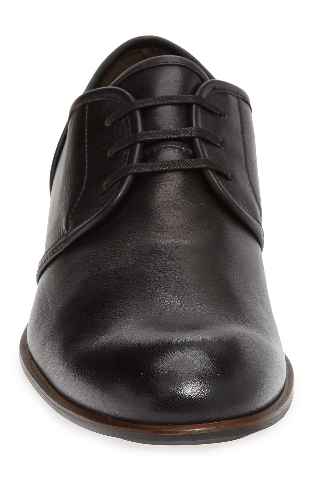 Star USA Seagher Plain Toe Derby,                             Alternate thumbnail 4, color,                             BLACK