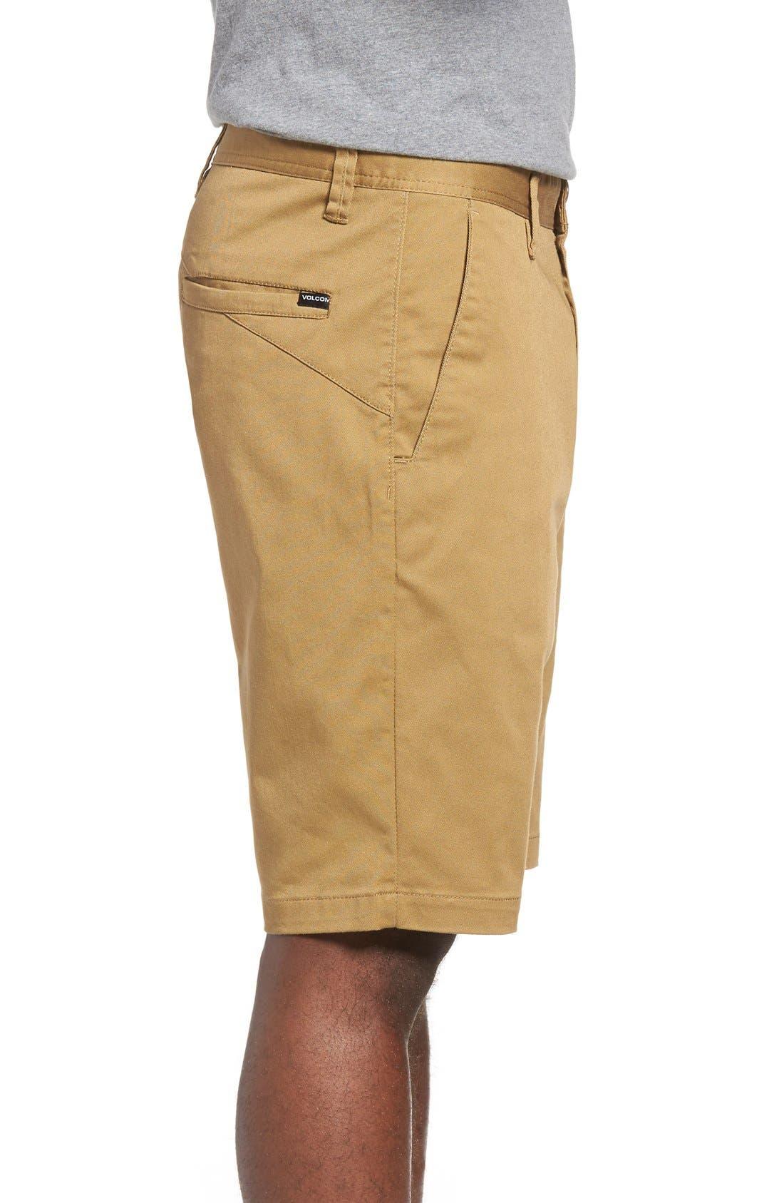 'Modern' Stretch Chino Shorts,                             Alternate thumbnail 31, color,