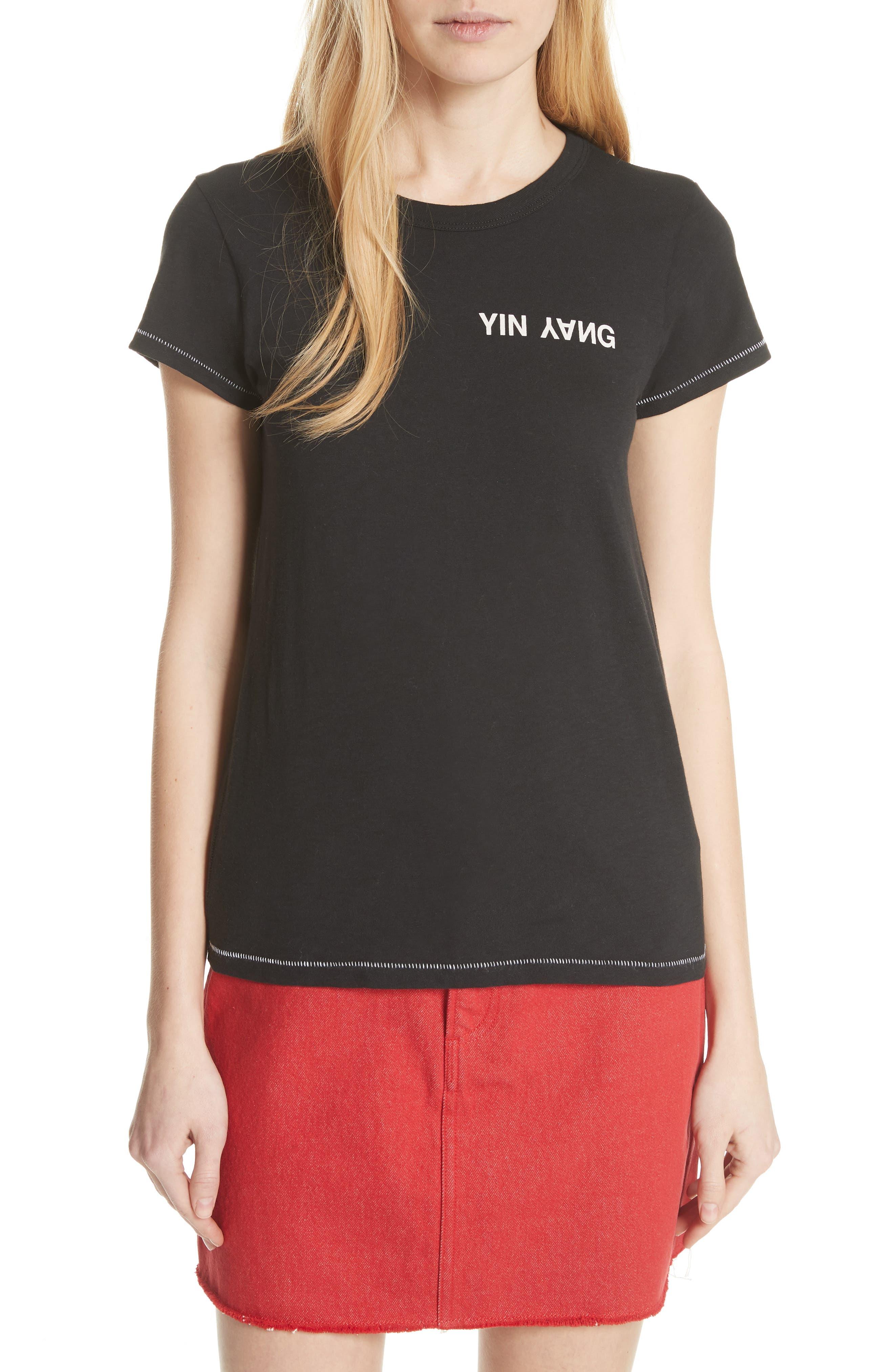 JEAN Yin Yang Tee, Main, color, 001