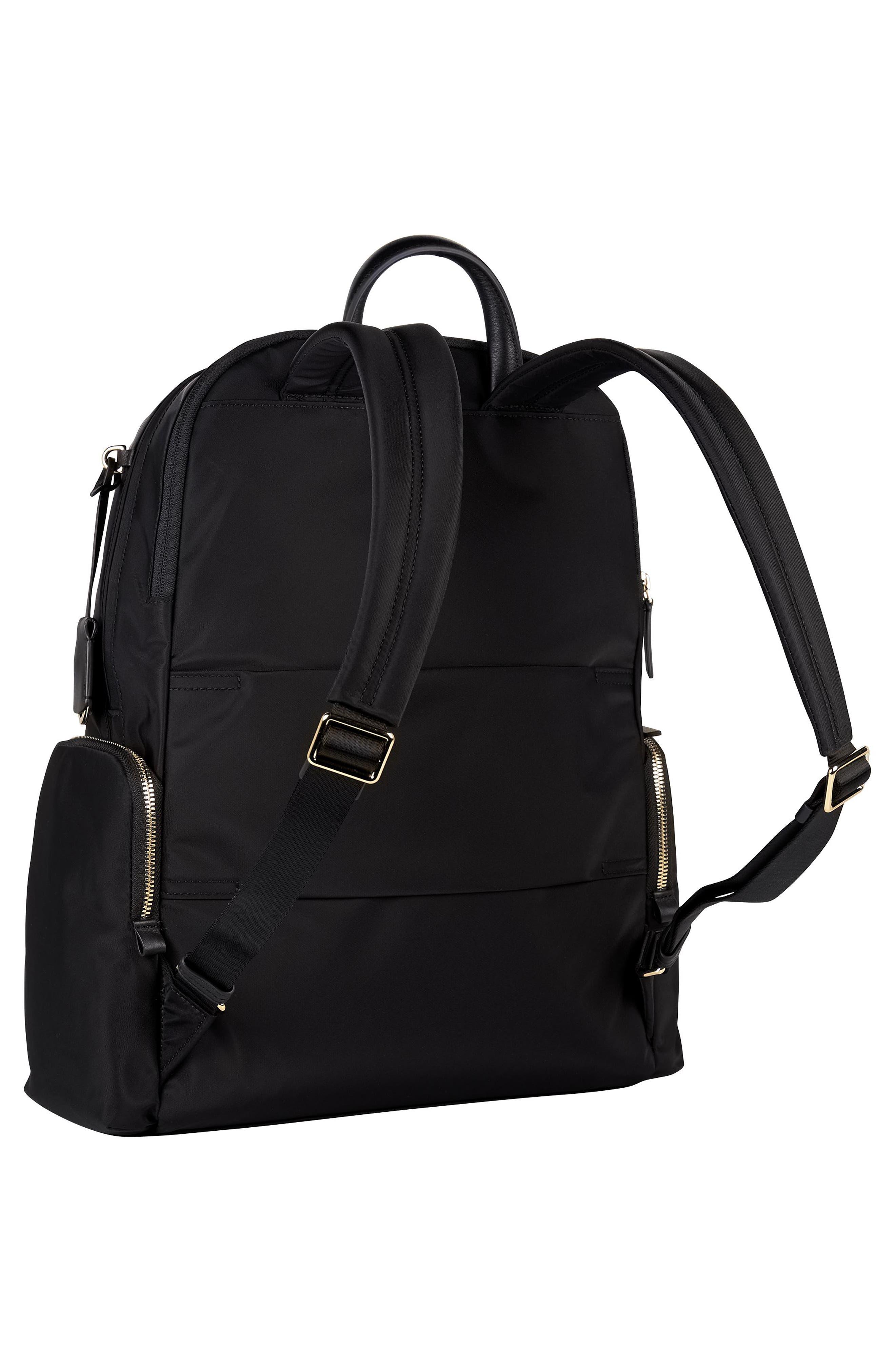 Voyager Carson Nylon Backpack,                             Alternate thumbnail 3, color,                             001