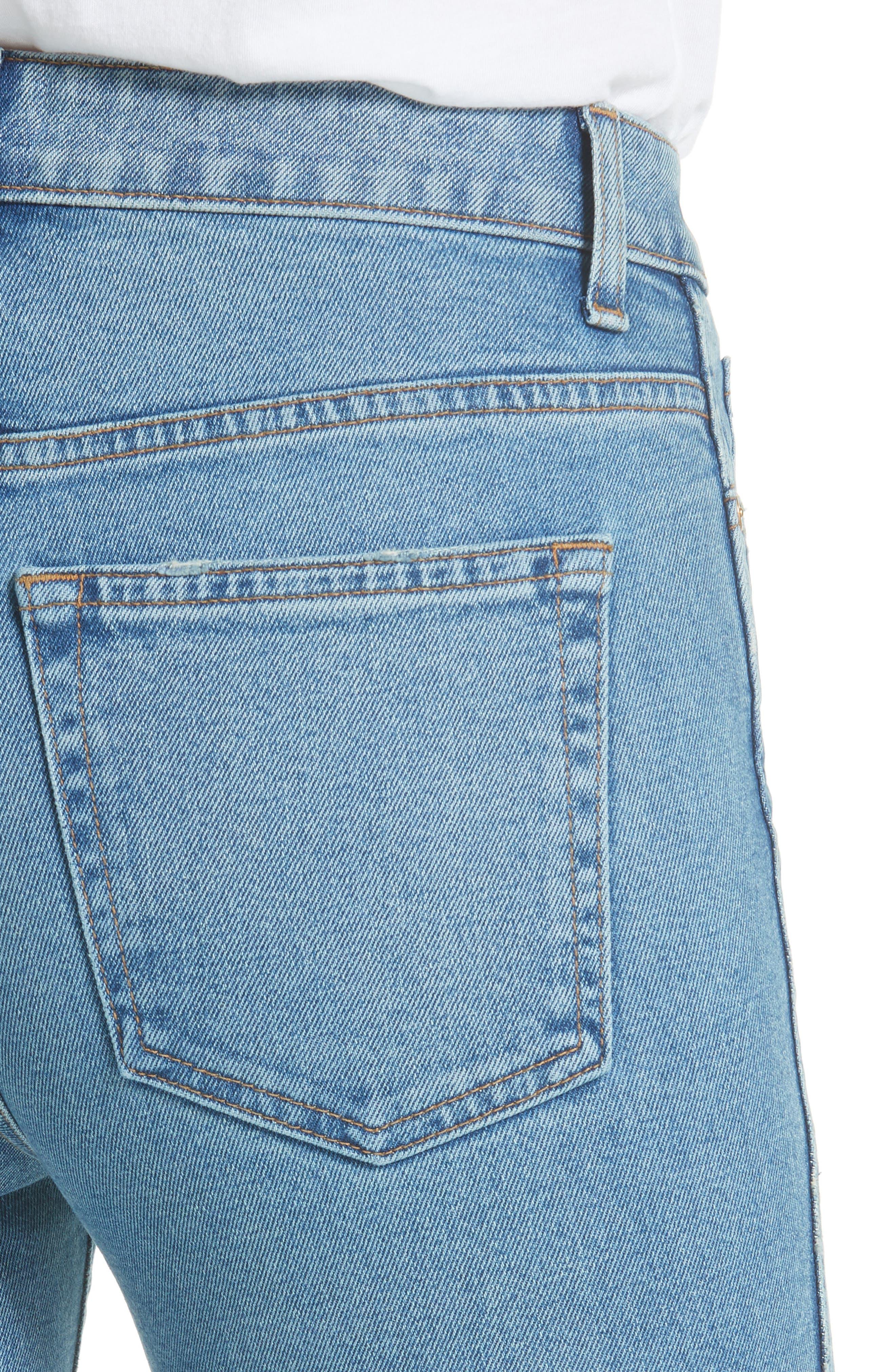 Reece Flare Jeans,                             Alternate thumbnail 4, color,                             401