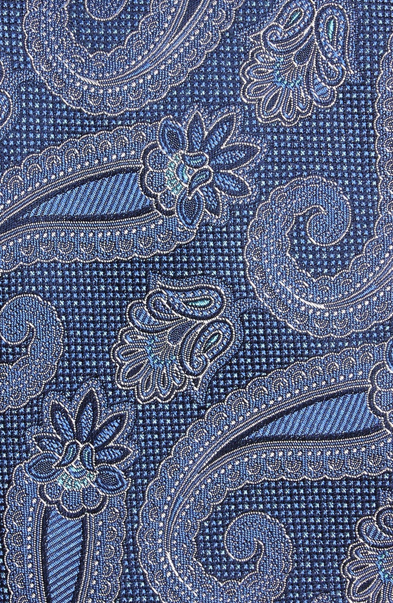 Emery Paisley Silk Tie,                             Alternate thumbnail 6, color,