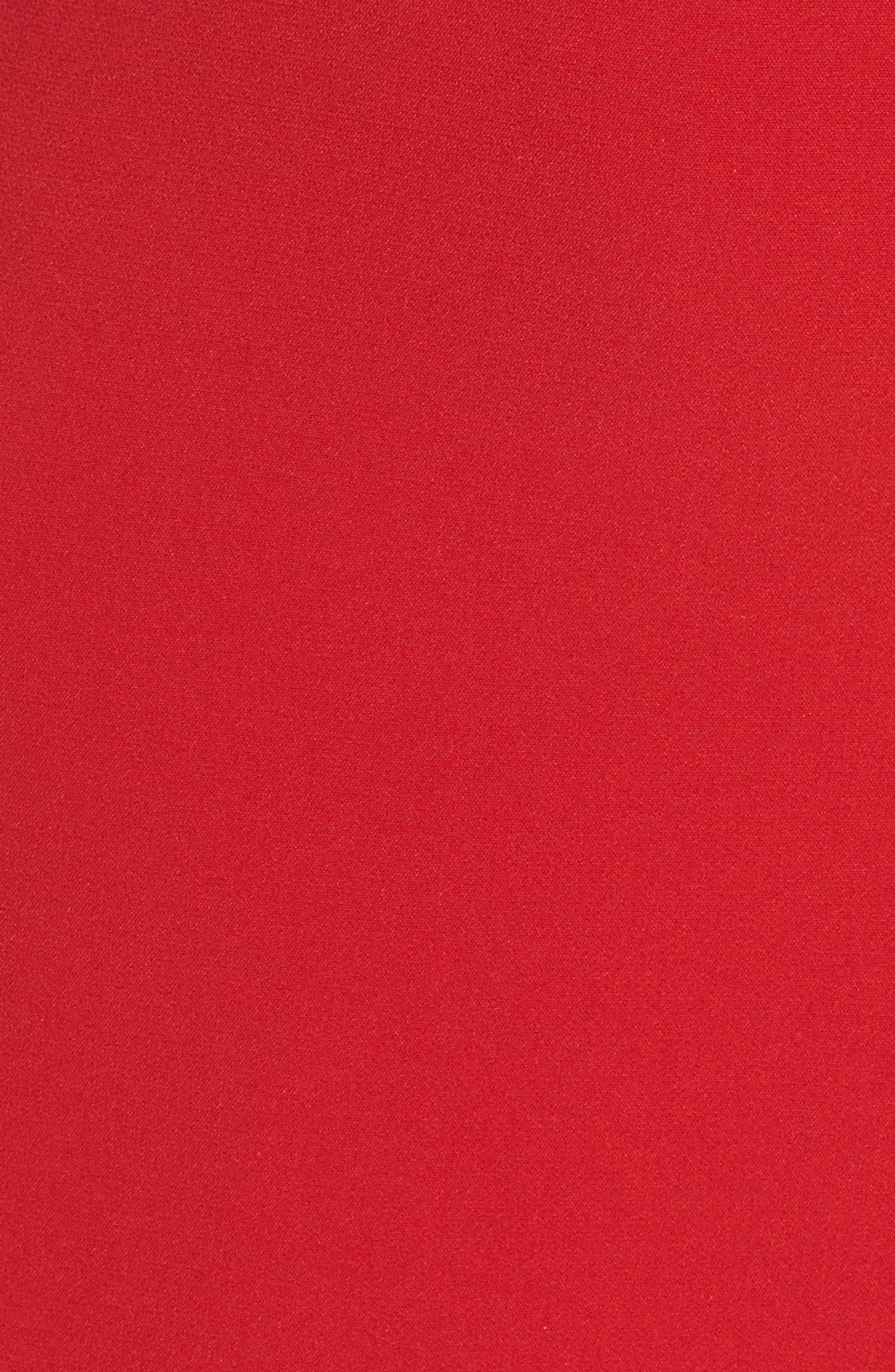 Halter Asymmetrical Sheath Dress,                             Alternate thumbnail 6, color,                             600