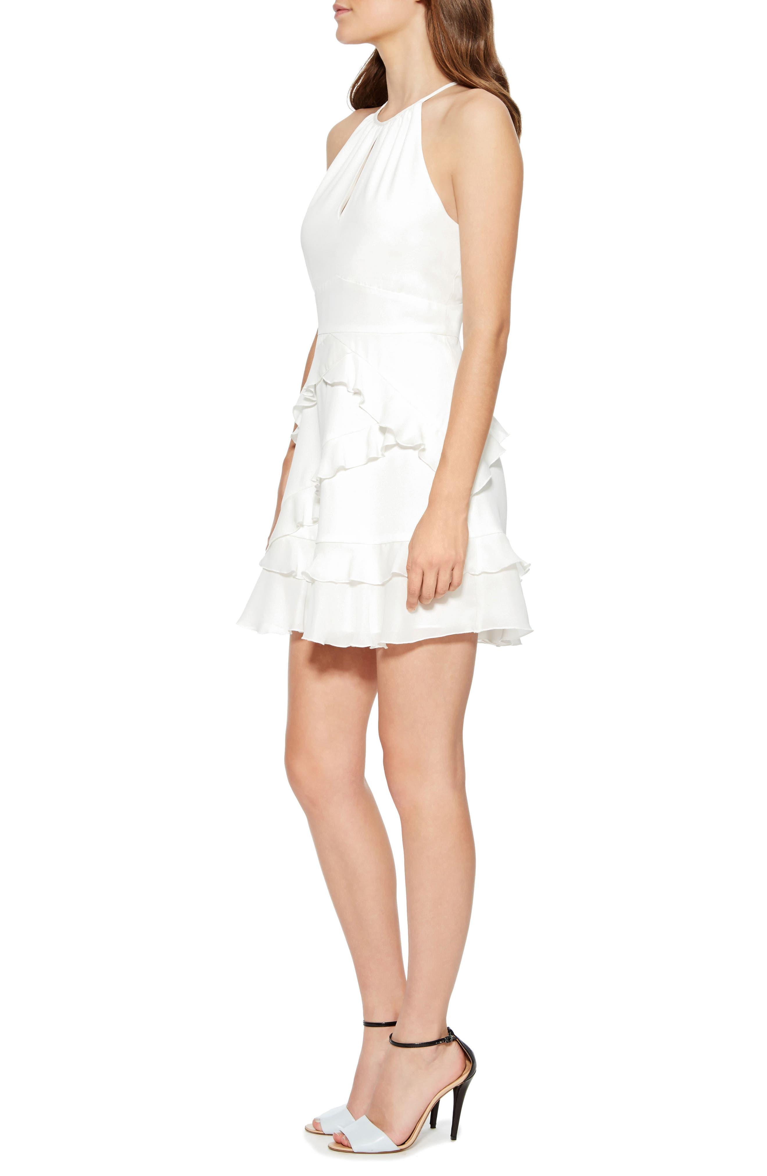 Phoenix Combo Dress,                             Alternate thumbnail 3, color,                             PEARL