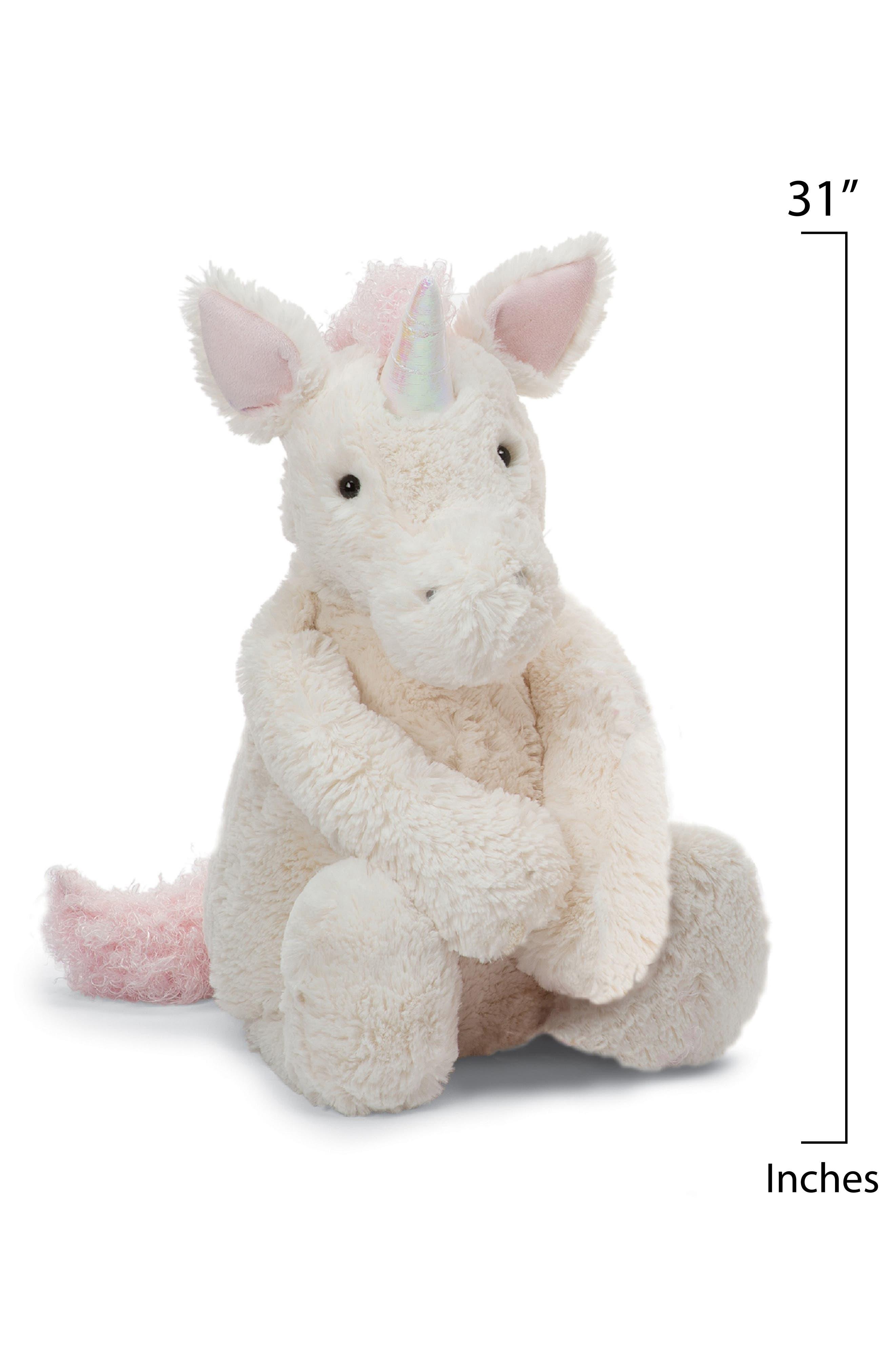 'Really Big Bashful Unicorn' Stuffed Animal,                             Alternate thumbnail 2, color,                             IVORY