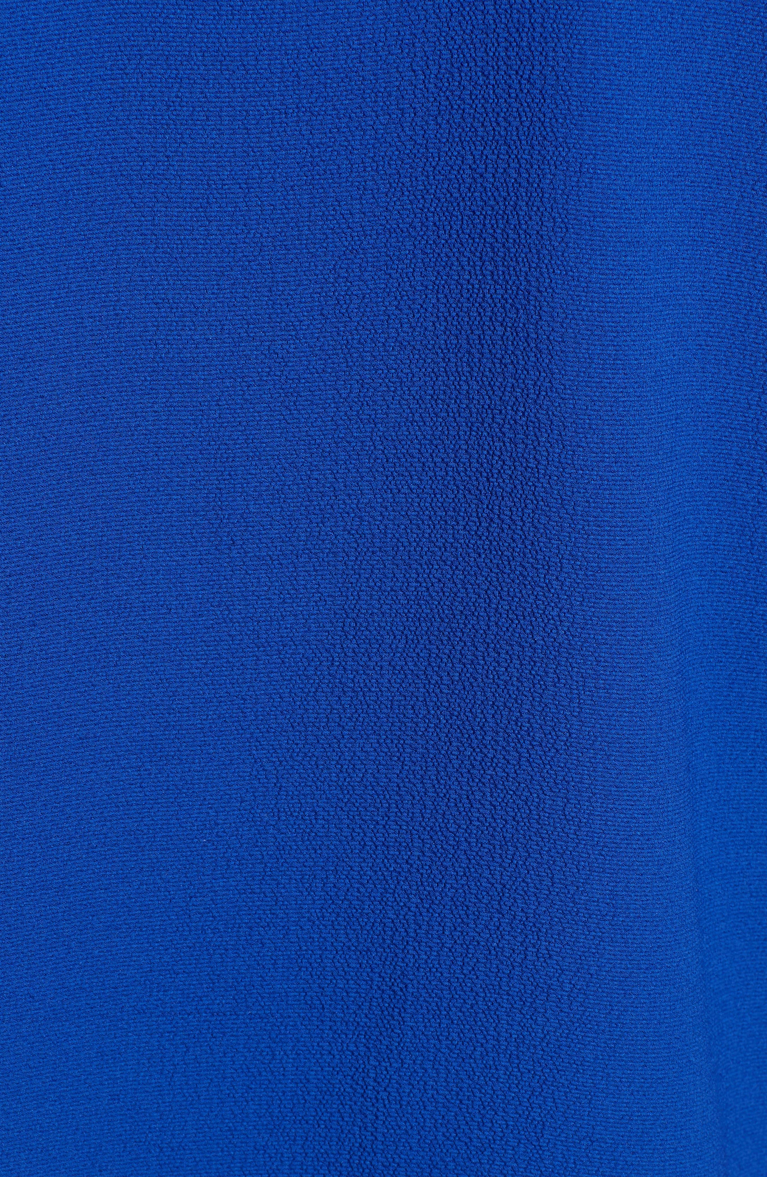 HALOGEN<SUP>®</SUP>, Lace & Crepe Top, Alternate thumbnail 6, color, ROYAL BLUE