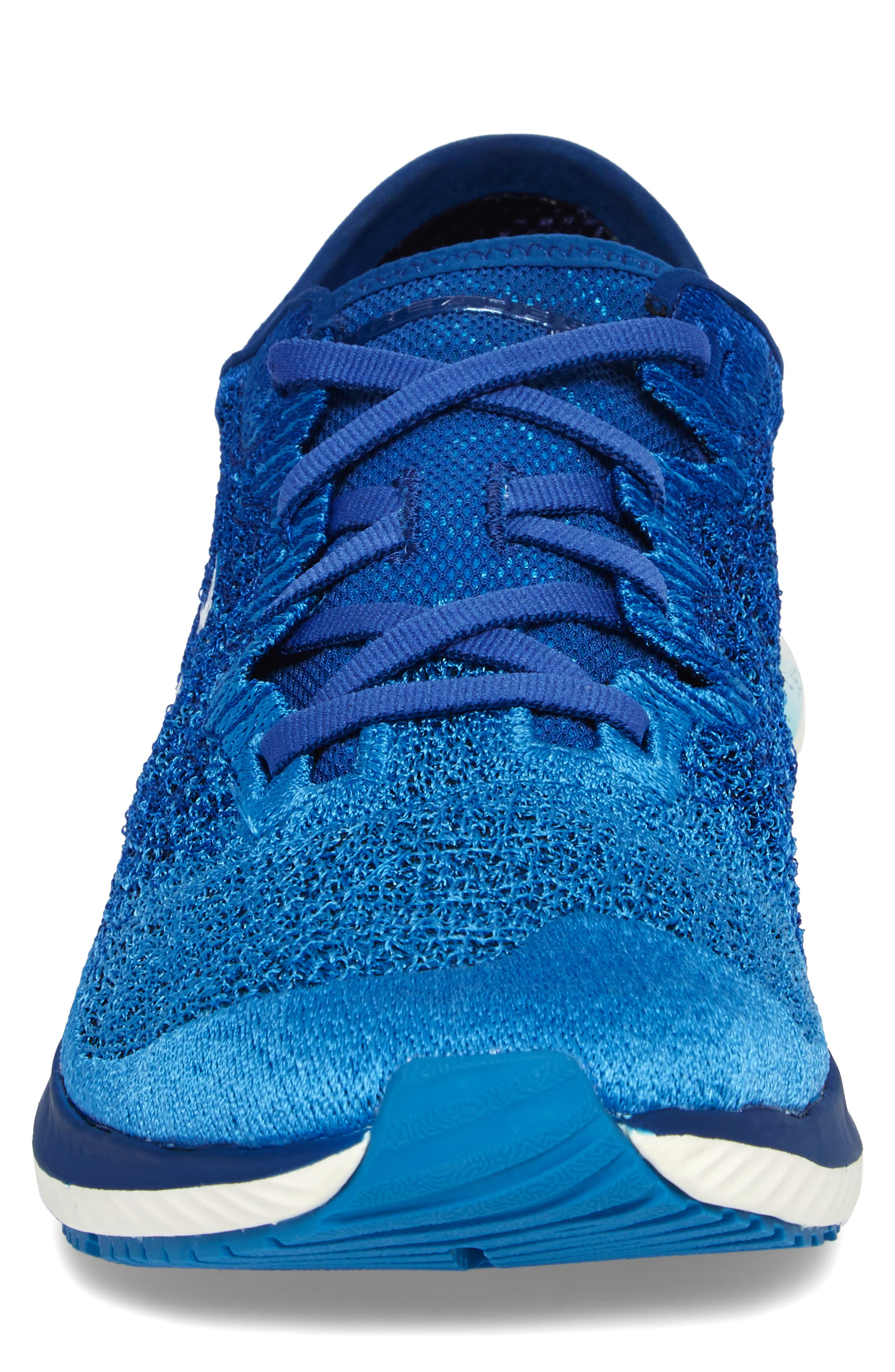 Threadborne Blur Running Shoe,                             Alternate thumbnail 4, color,                             BLUE / STUDIO