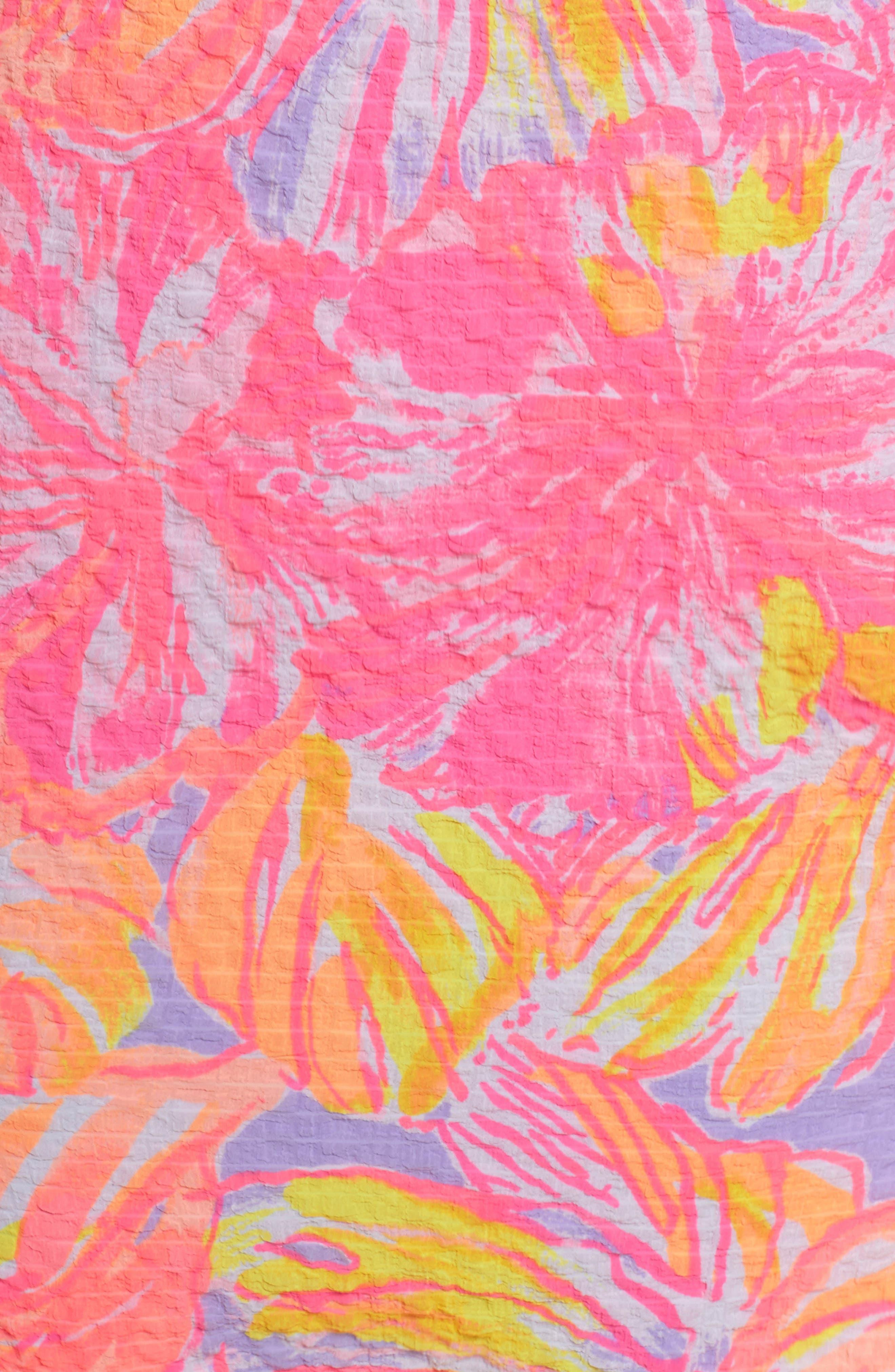 Emmeline One-Shoulder Dress,                             Alternate thumbnail 6, color,                             599