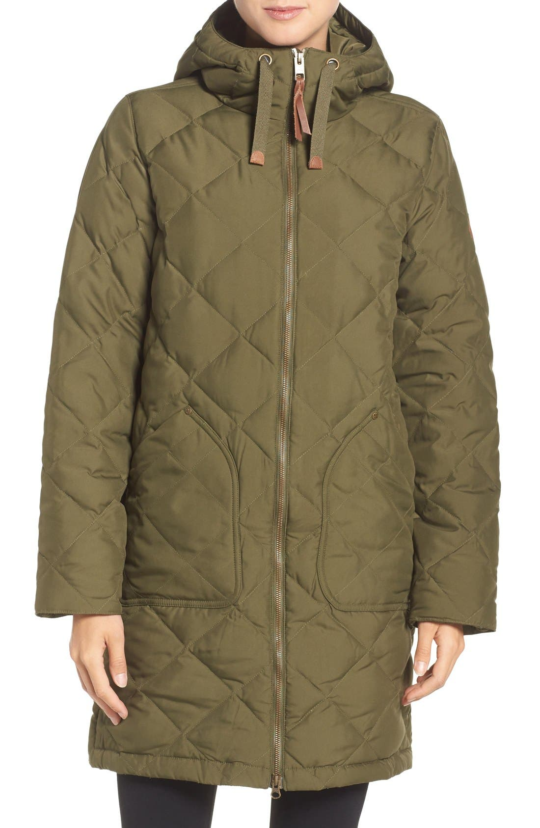 Bixby Long Down Jacket,                             Main thumbnail 1, color,                             397