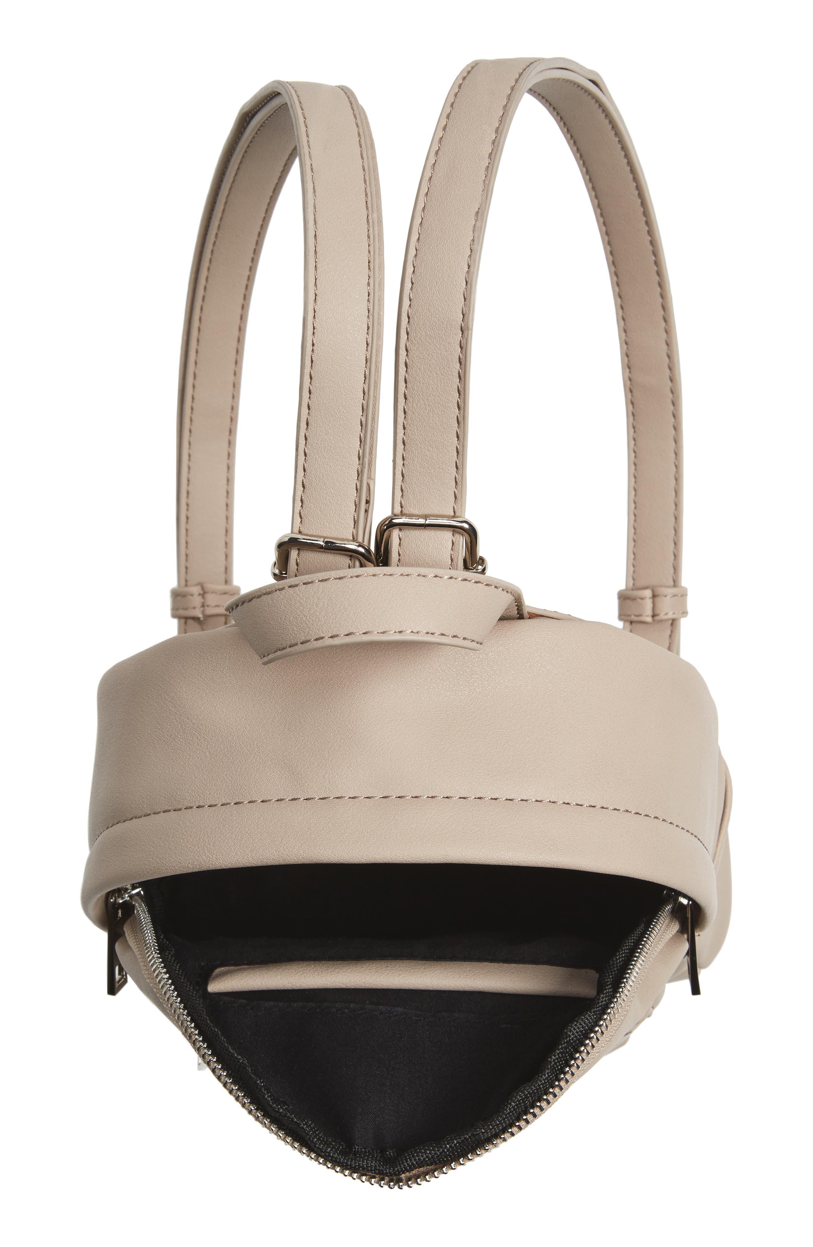 Faux Leather Mini Backpack,                             Alternate thumbnail 31, color,