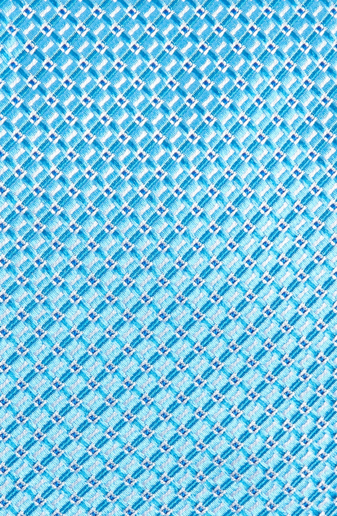 Grid Silk Tie,                             Alternate thumbnail 2, color,                             435