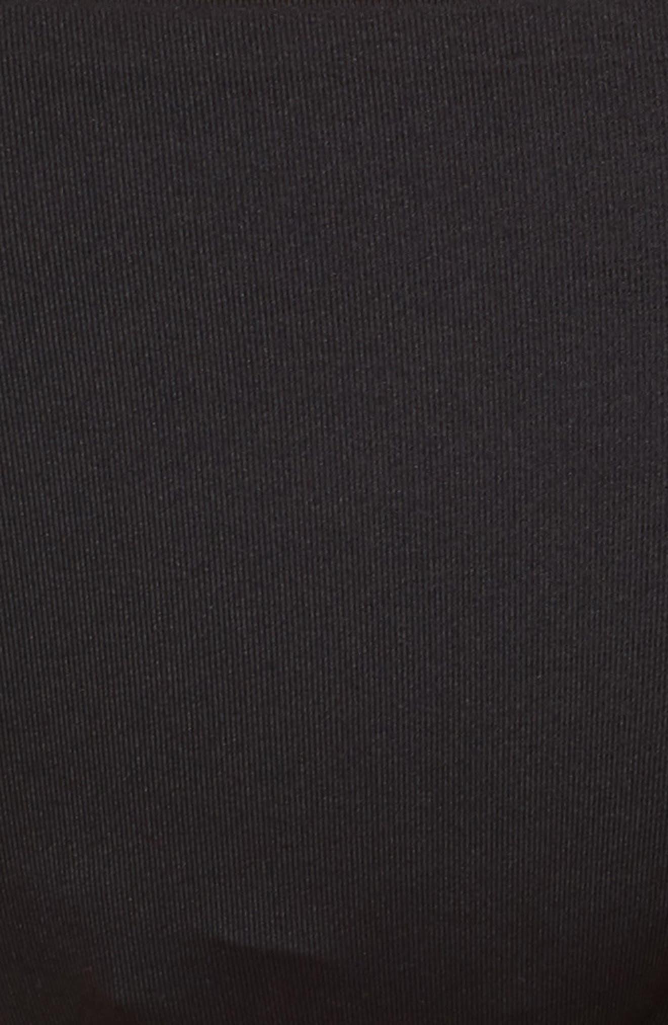 Seaglass Bay Reversible Bikini Bottoms,                             Alternate thumbnail 5, color,                             BLACK