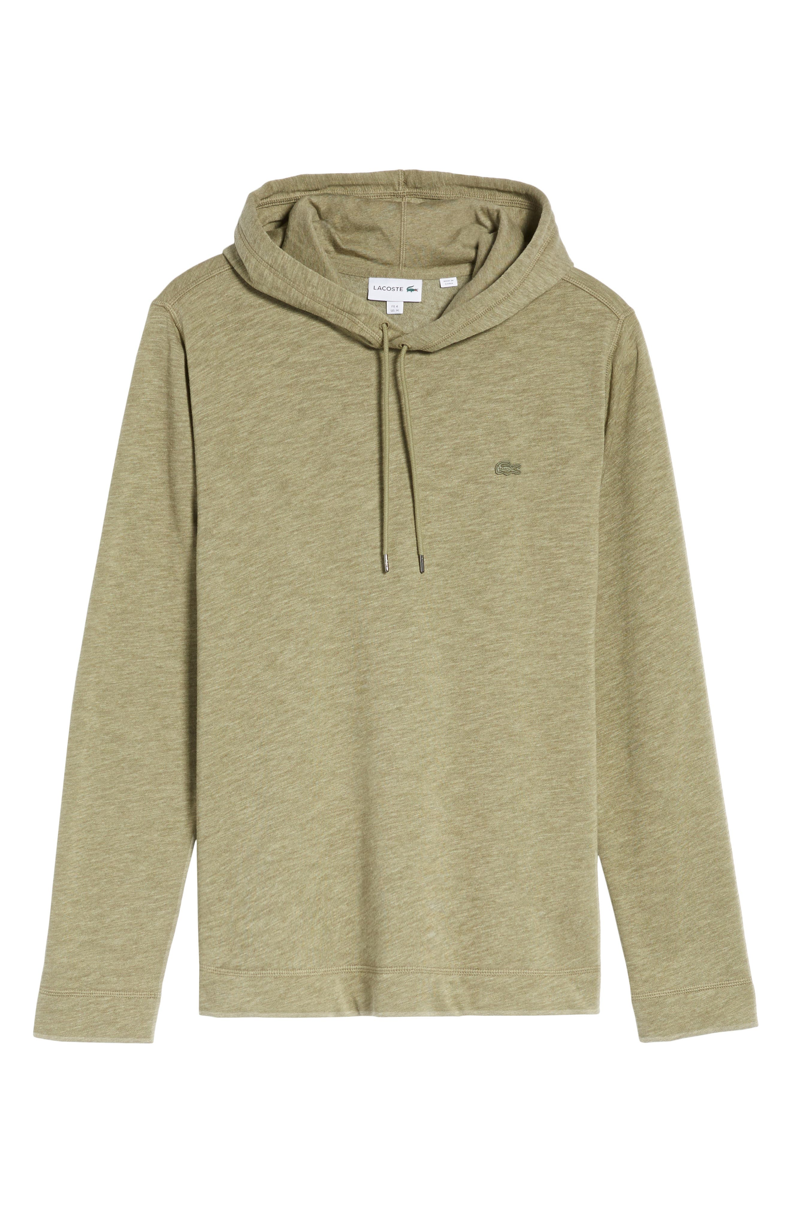 Brushed Fleece Hoodie,                             Alternate thumbnail 6, color,                             028